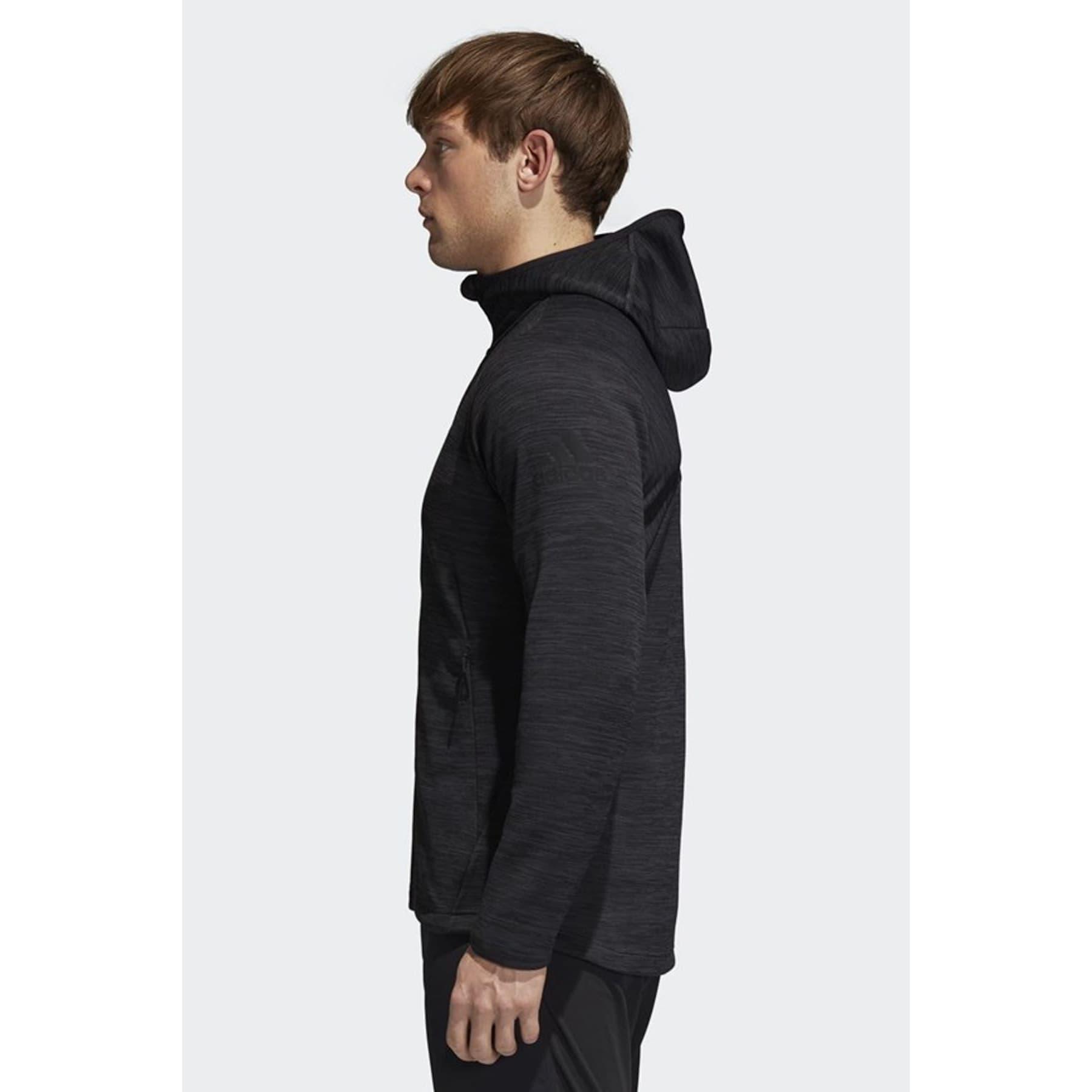 FreeLift Climaheat Erkek Siyah Sweatshirt