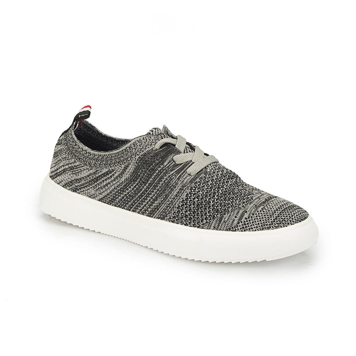 224539 Gri Erkek Günlük Spor Ayakkabısı (100297560)