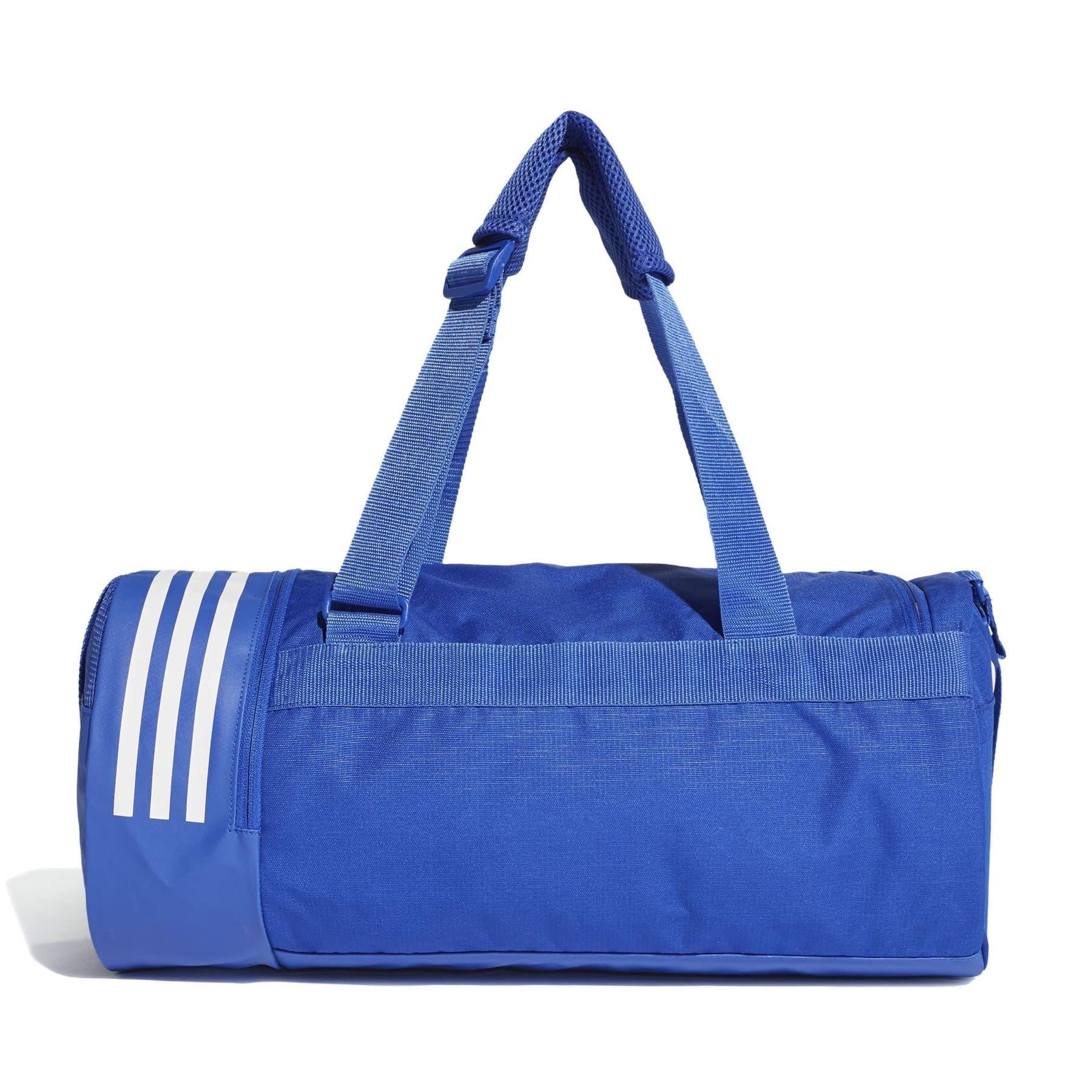 3 Bantlı Dönüşebilen Mavi Duffel Çanta