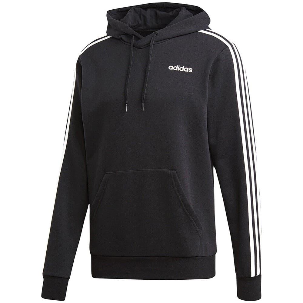 Essentials 3 Bantlı Erkek Siyah Sweatshirt