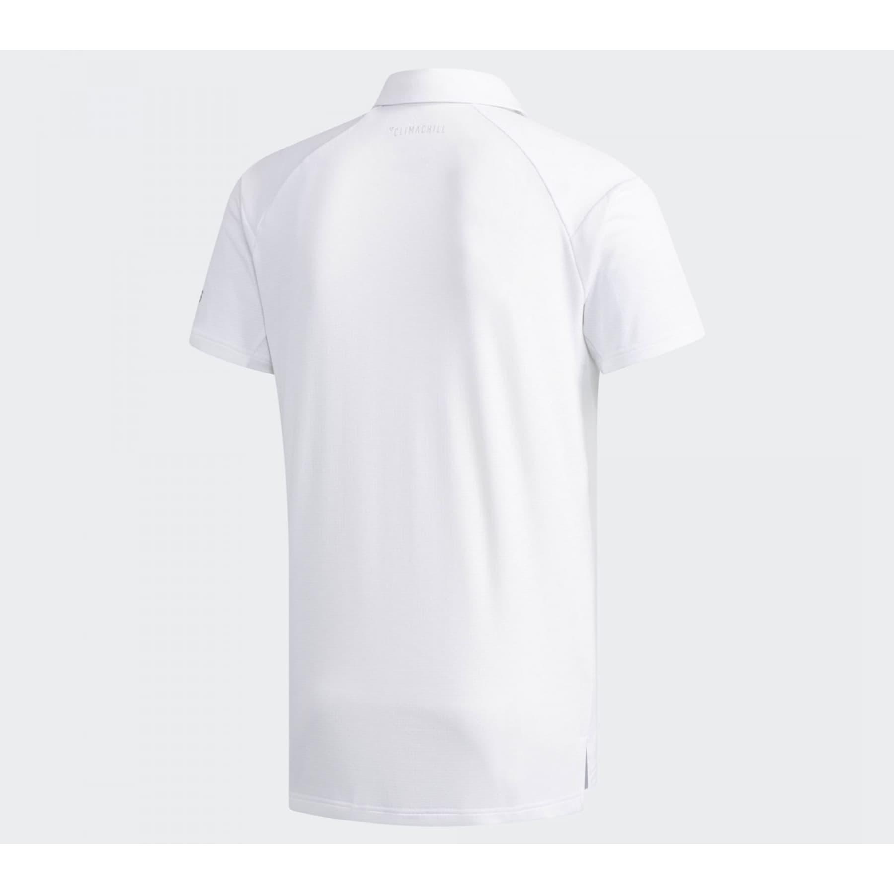 Climachill Polo Yaka Erkek Beyaz Tişört (DU8412)