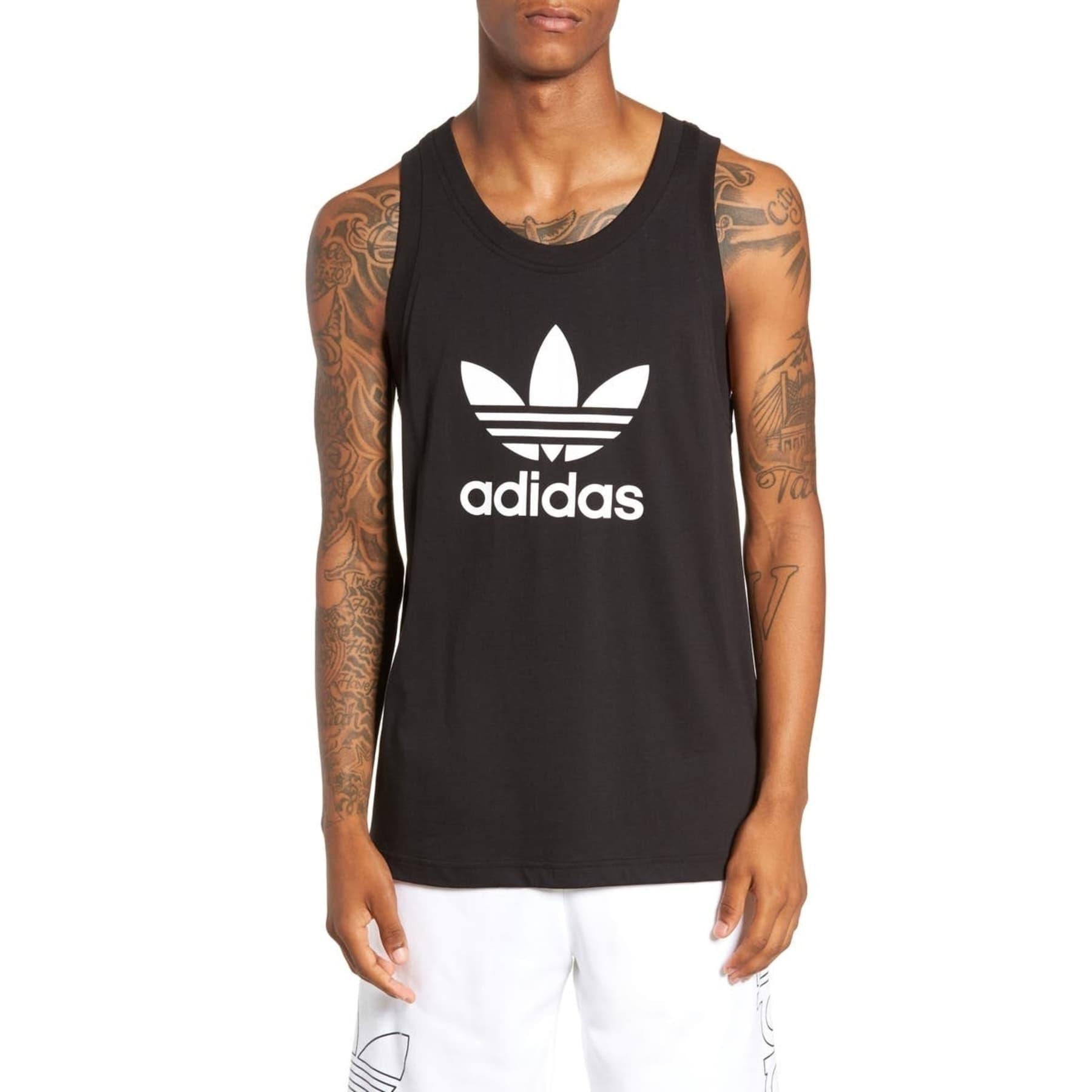 adidas Trefoil Tank Erkek Siyah Atlet (DV1509)