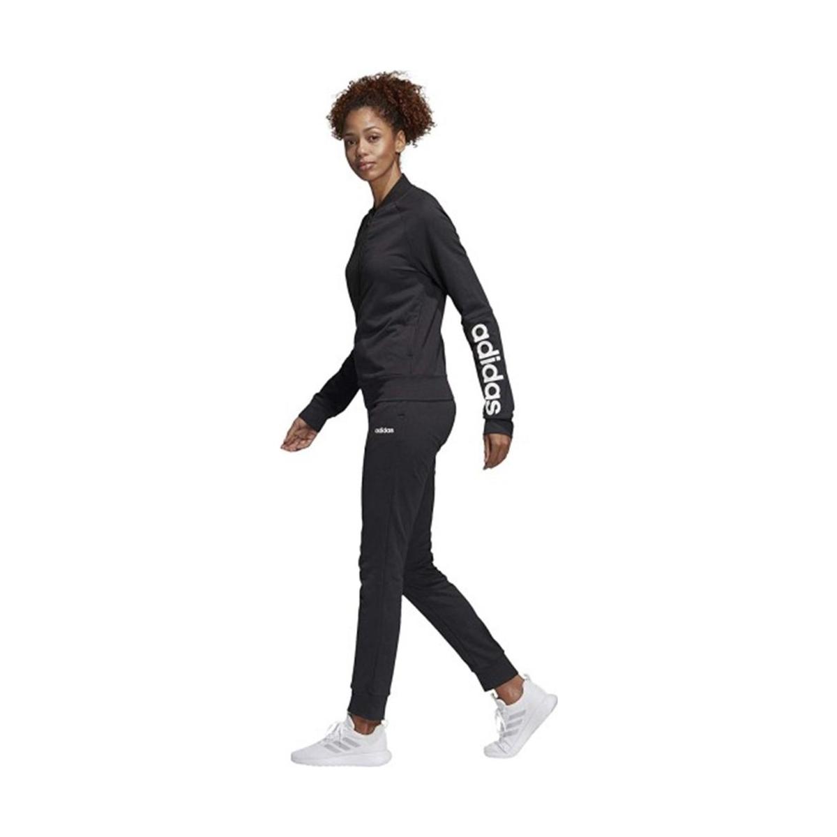 adidas Wts New Co Mark Kadın Siyah Eşofman Takımı