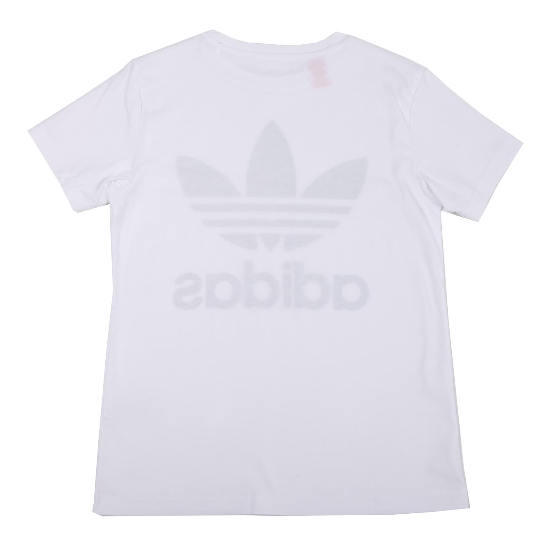 adidas Trefoil Çocuk Beyaz Tişört (DV2904)