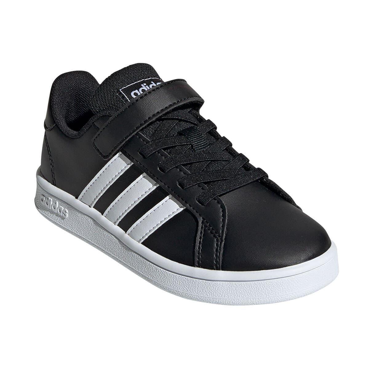 Grand Court Çocuk Siyah Spor Ayakkabı (EF0108)