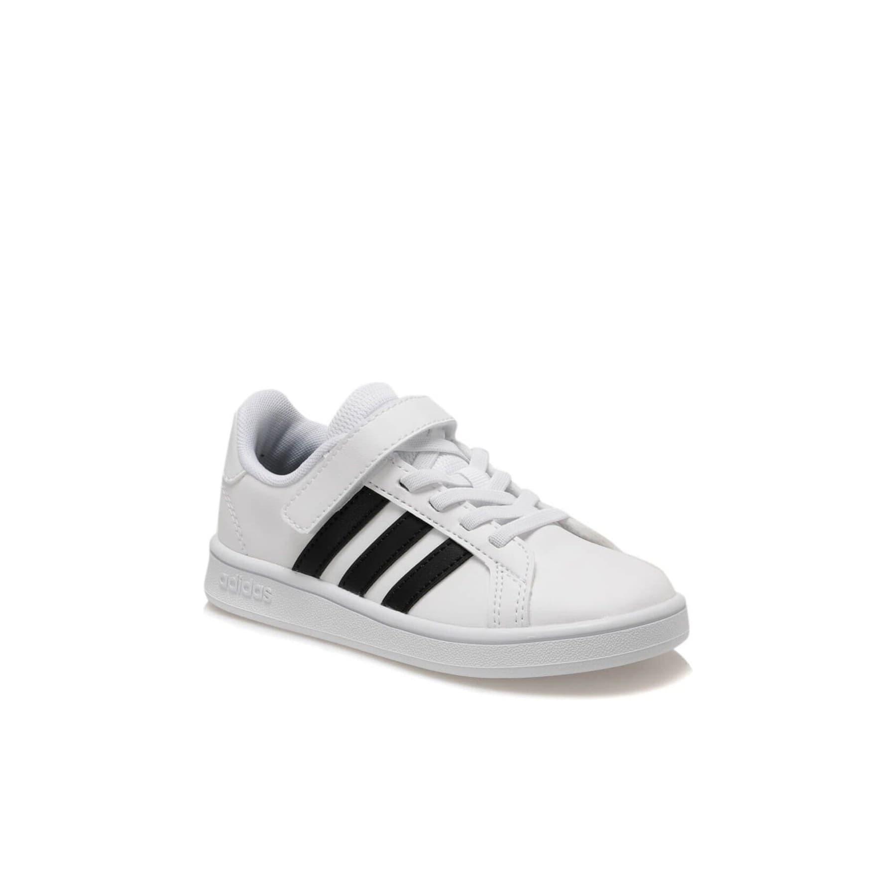 Grand Court Çocuk Beyaz Spor Ayakkabı (EF0109)