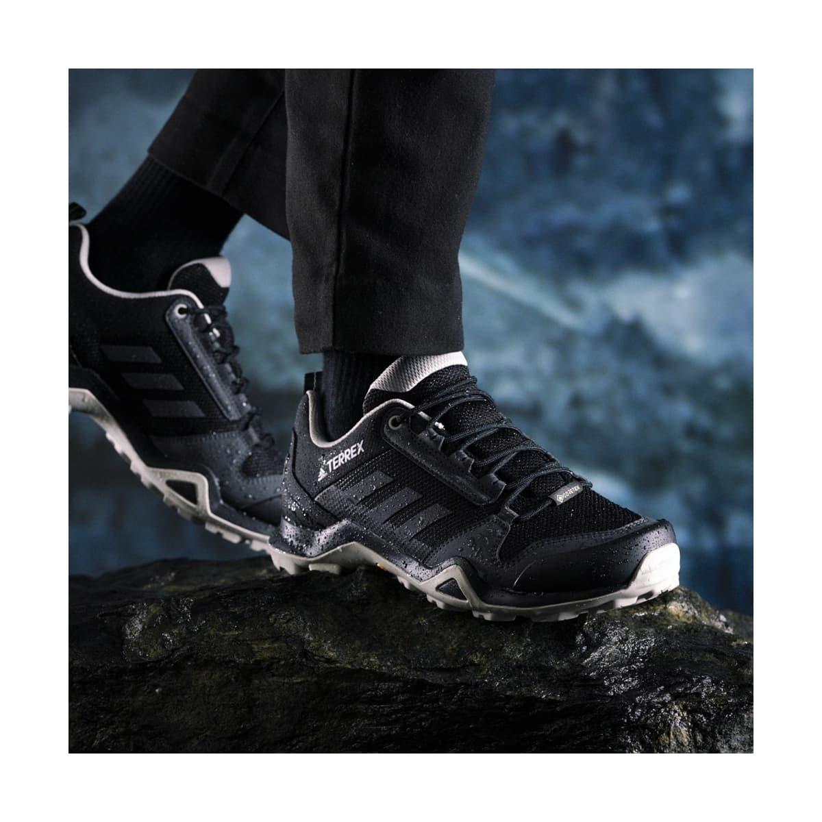 Terrex Ax3 Gore-Tex Kadın Siyah Yürüyüş Ayakkabısı