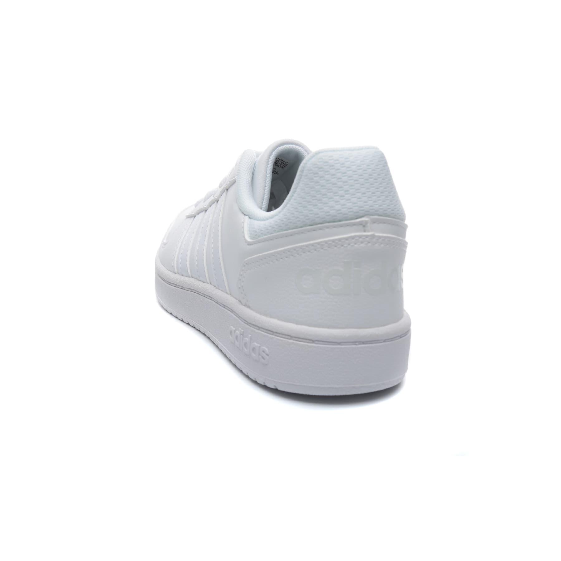 adidas Hoops 2.0 Kadın Beyaz Spor Ayakkabı (F35891)