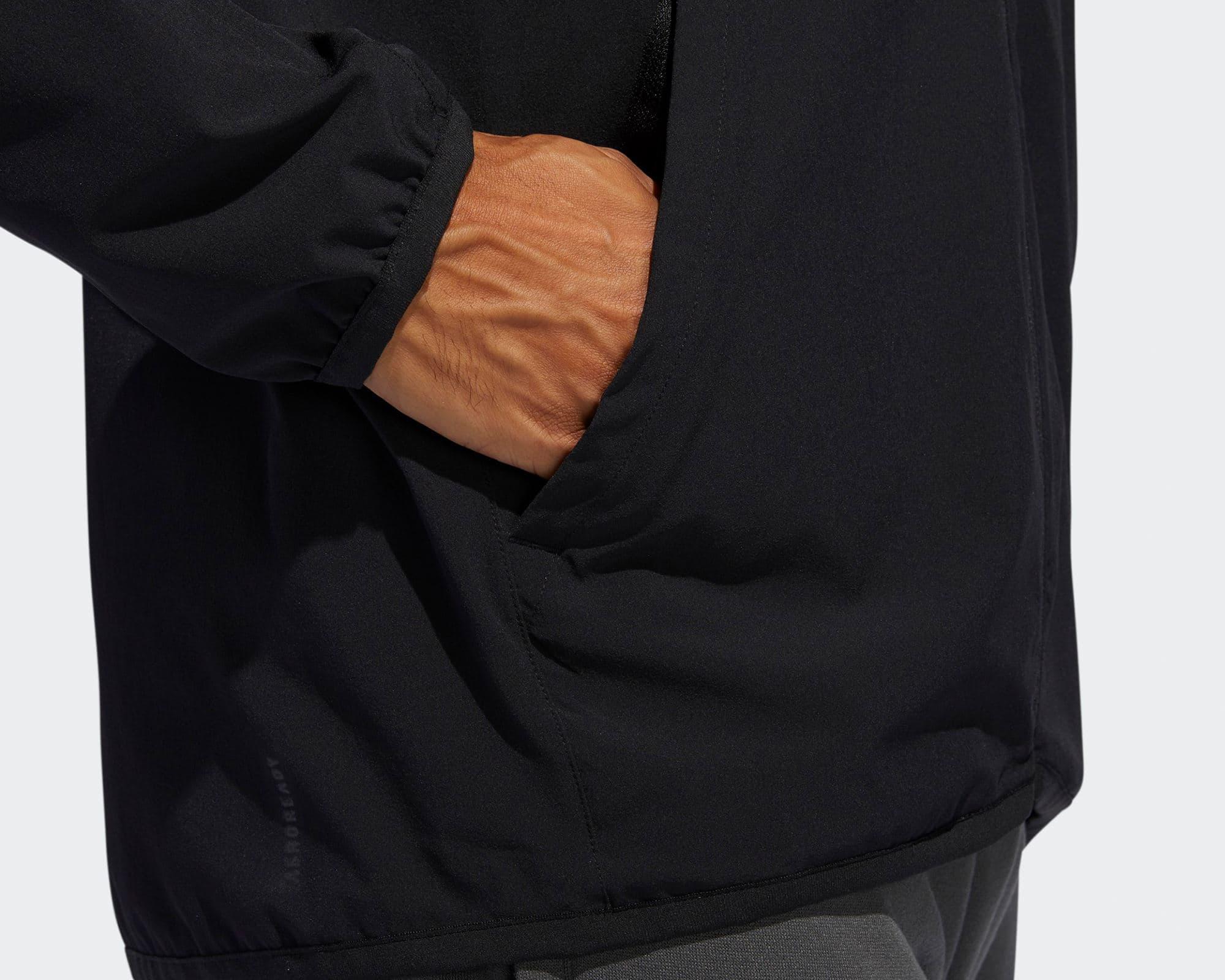 City Base Kapüşonlu Erkek Siyah Üst (FL1507)