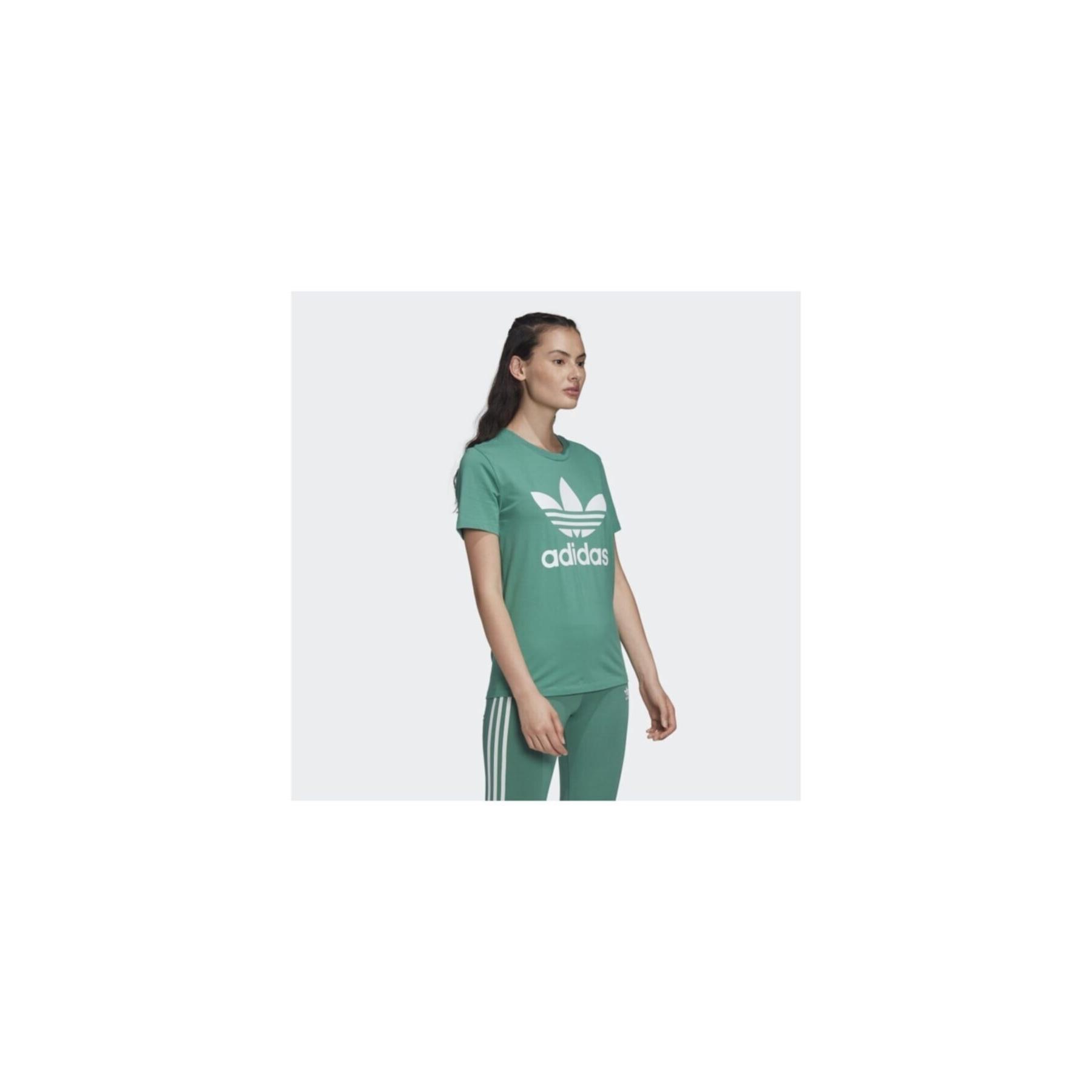 adidas Trefoil Kadın Yeşil Tişört (FM3300)
