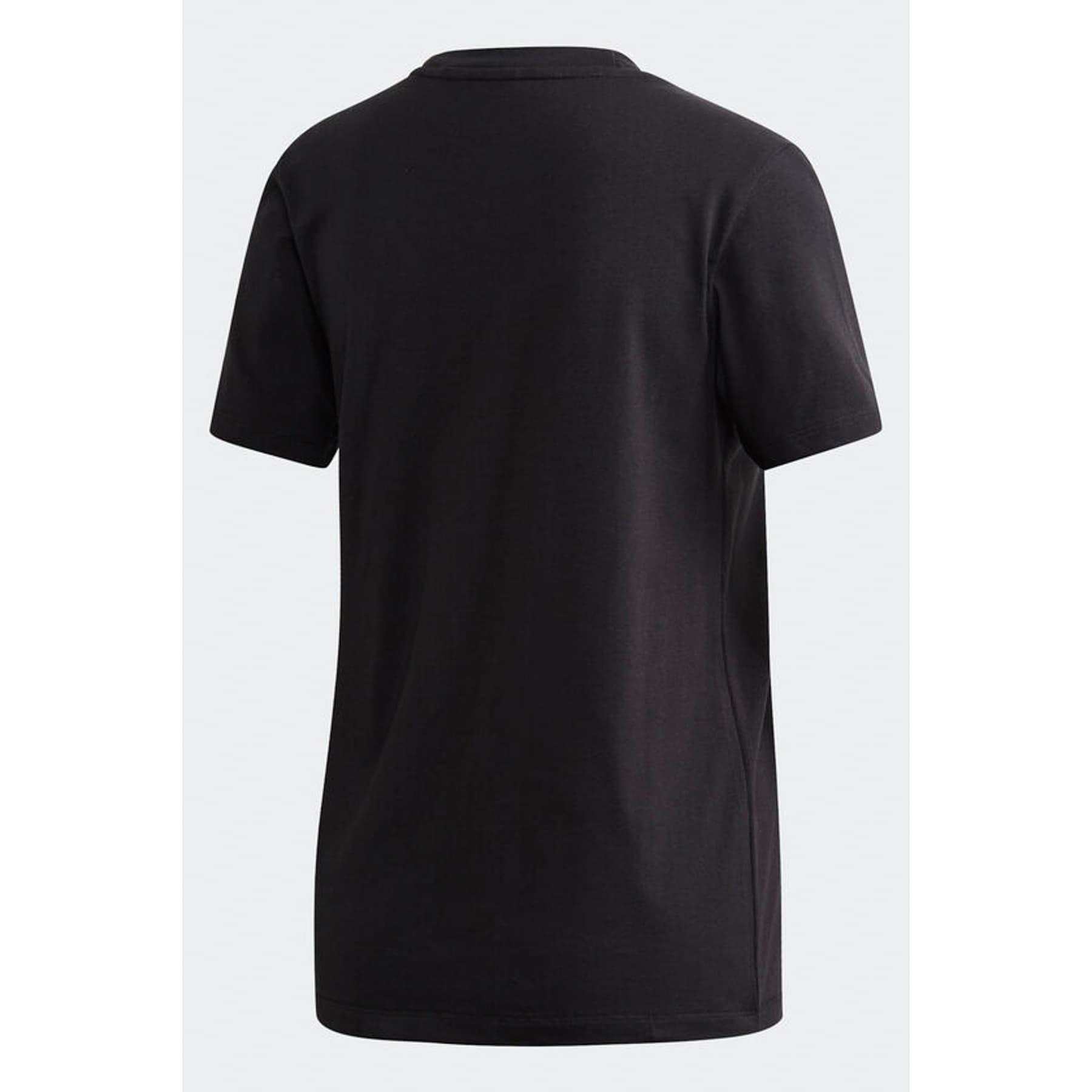 adidas Trefoil Kadın Siyah Tişört (FM3311)