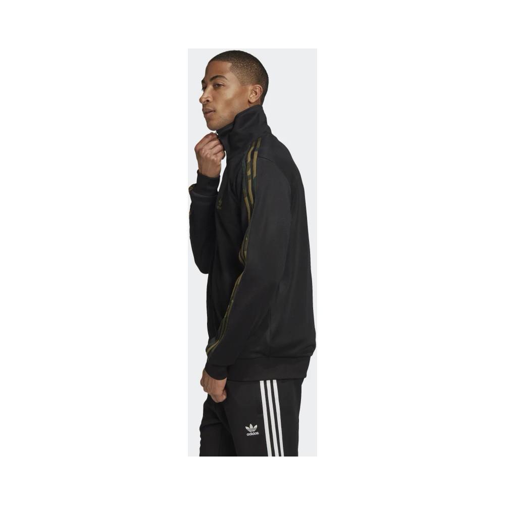 Camouflage Erkek Siyah Spor Ceket