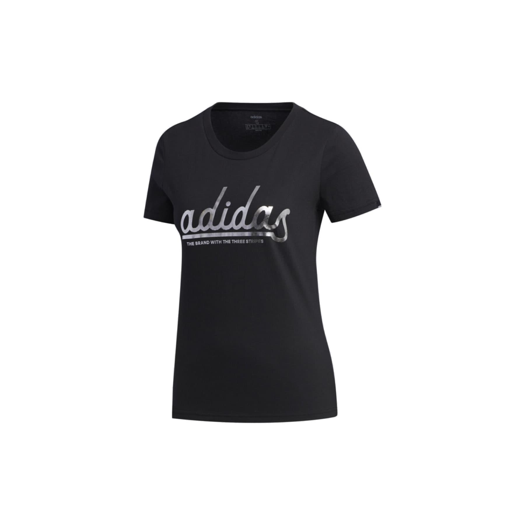 adidas Colgt Foil Kadın Siyah Tişört (FM6176)