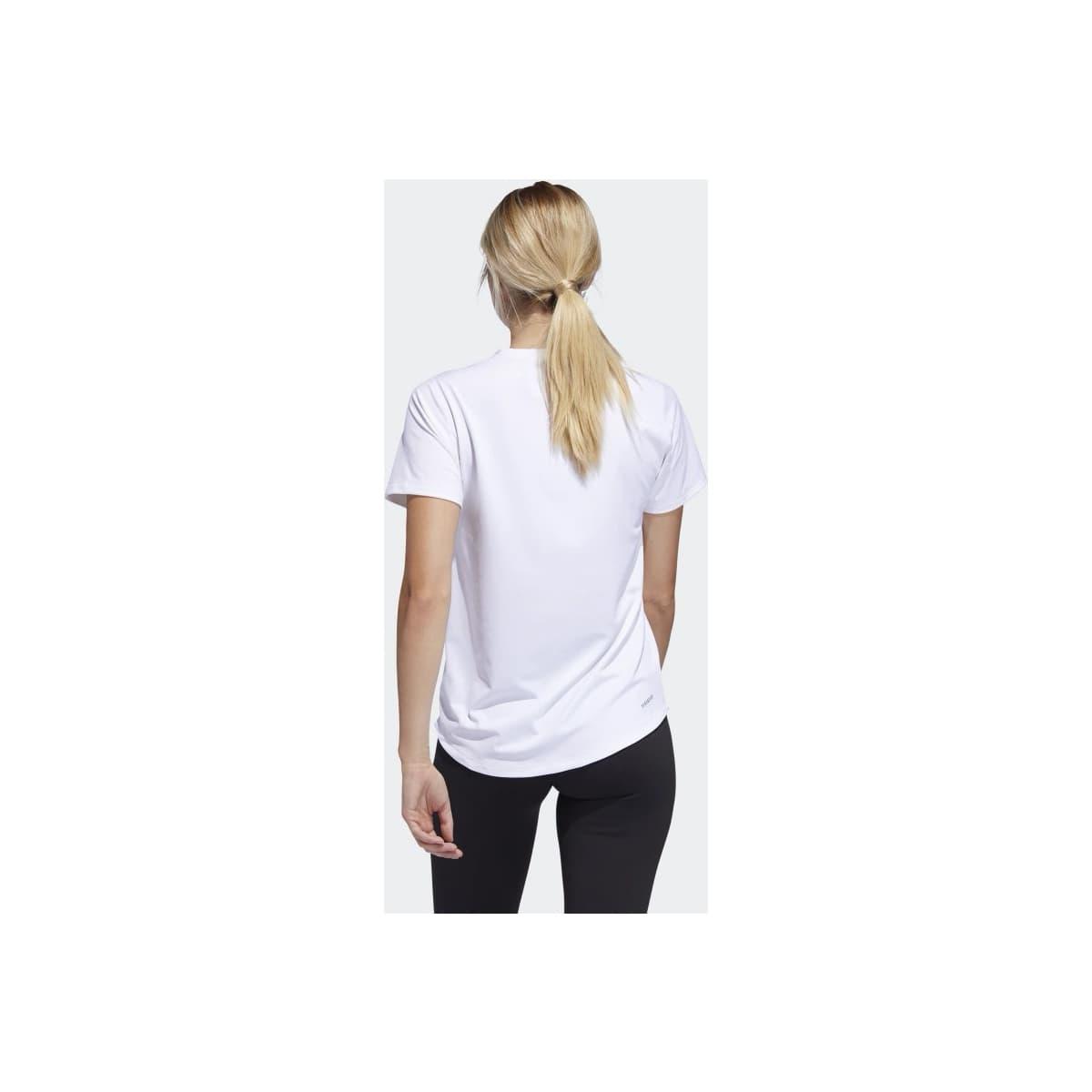 Badge of Sport Kadın Beyaz Spor Tişört (FQ1987)