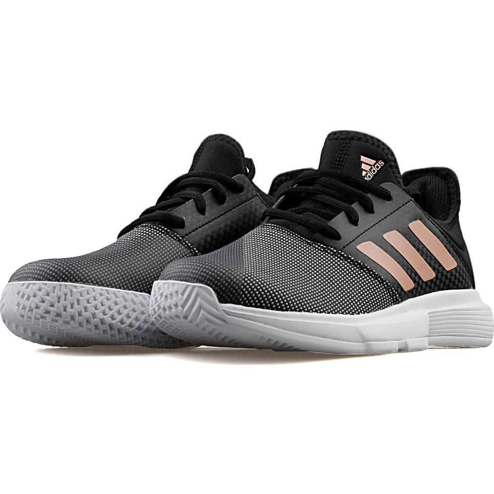 GameCourt Kadın Siyah Tenis Ayakkabısı