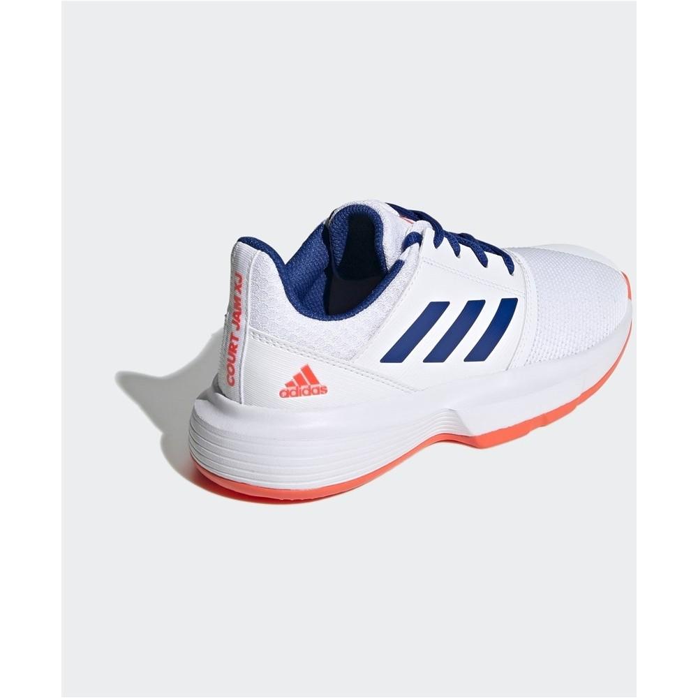 CourtJam Xj Çocuk Beyaz Tenis Ayakkabısı
