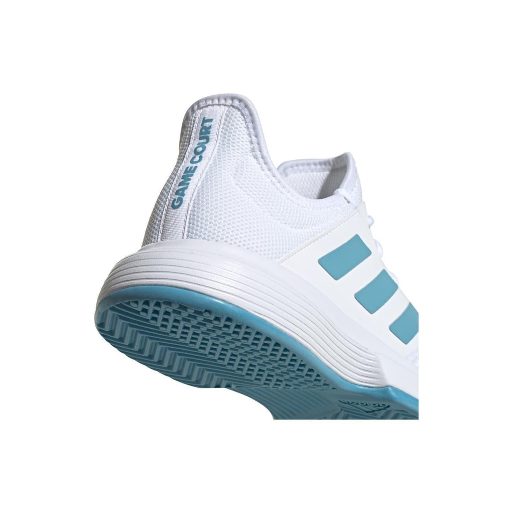 GameCourt Erkek Beyaz Tenis Ayakkabısı (FX1552)