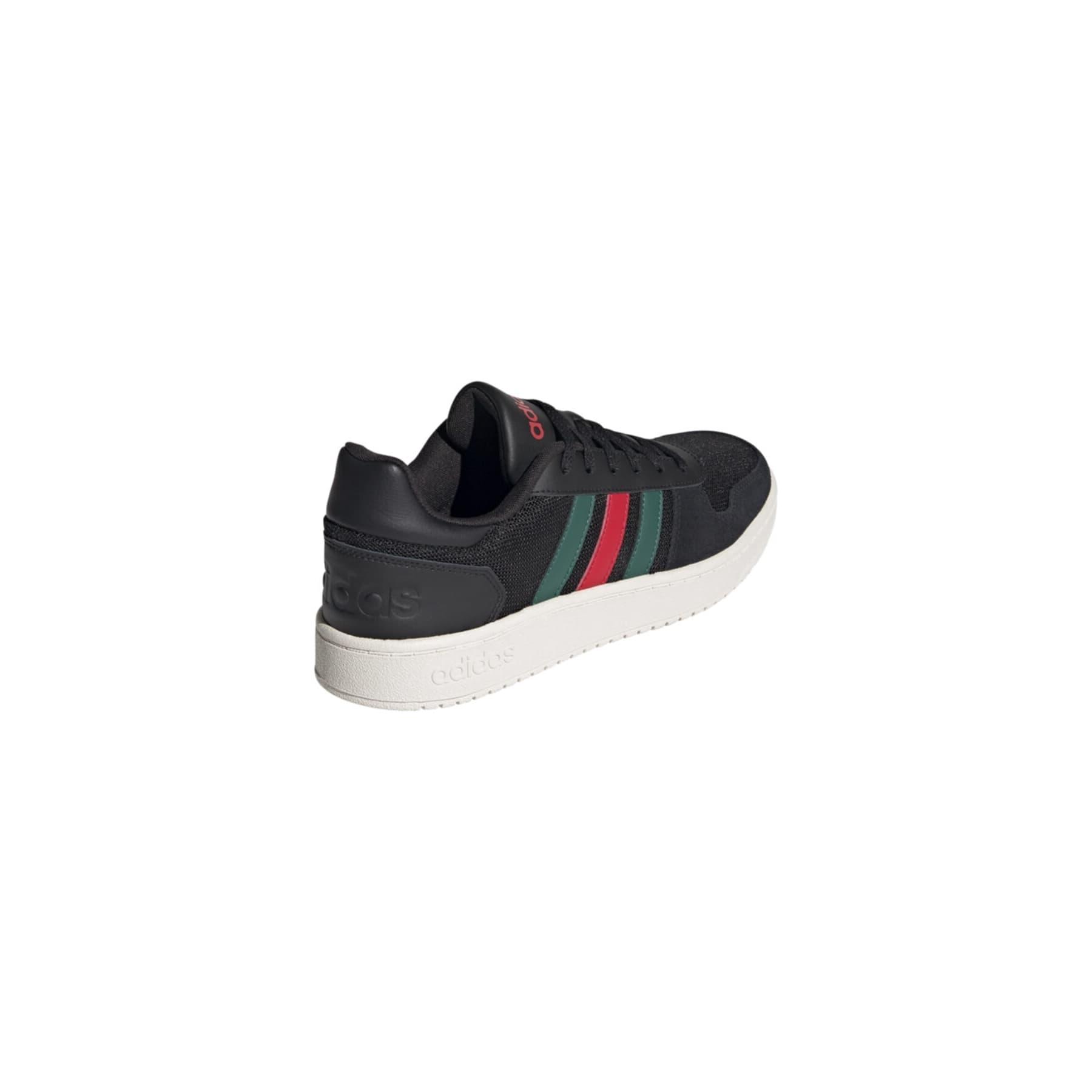 Hoops 2.0 Erkek Siyah Spor Ayakkabı (FY5208)