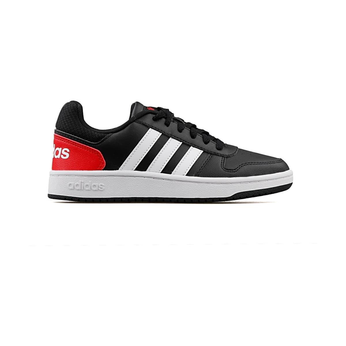 Hoops 2.0 Genç Çocuk Siyah Spor Ayakkabı (FY7015)