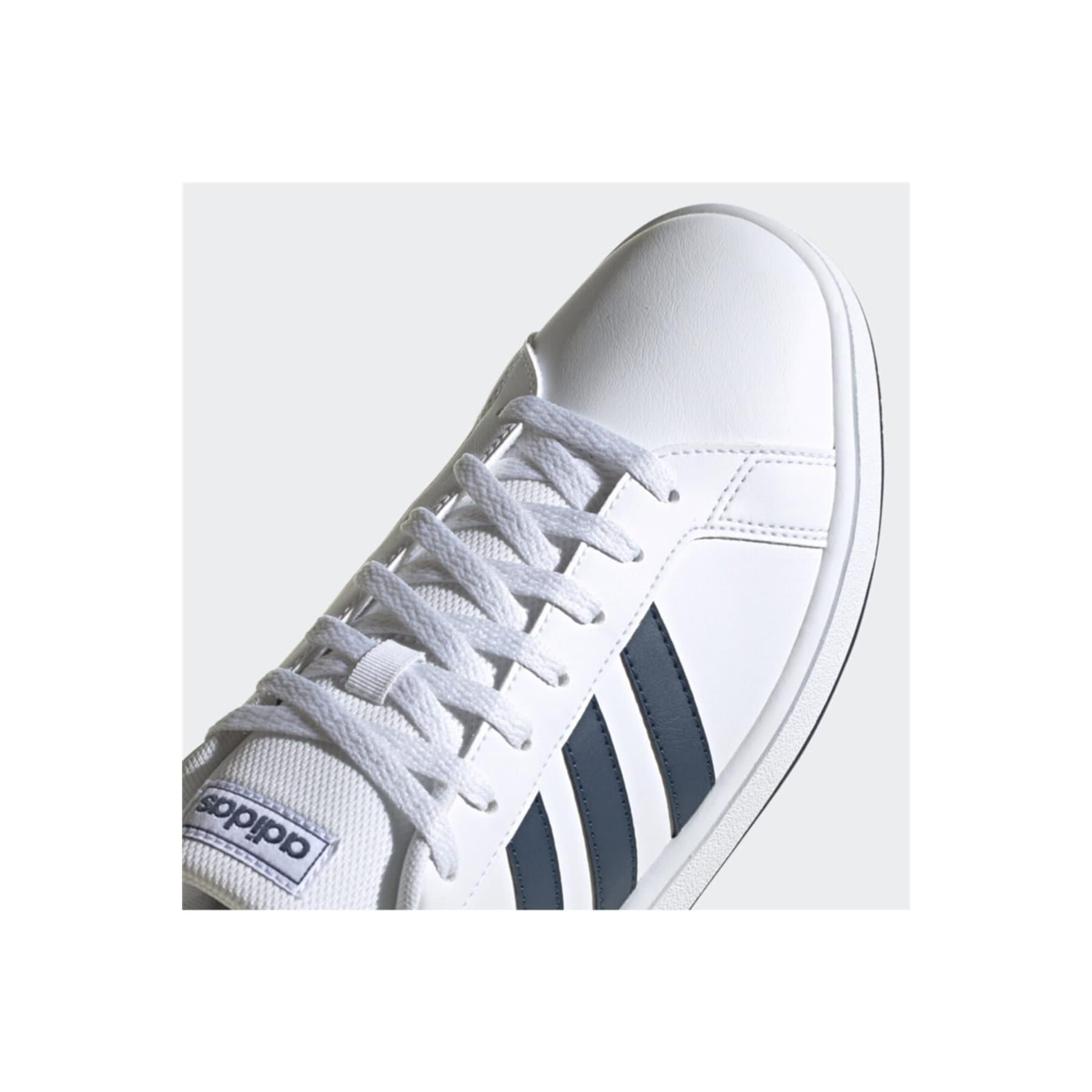 Grand Court Base Erkek Beyaz Spor Ayakkabı (FY8568)