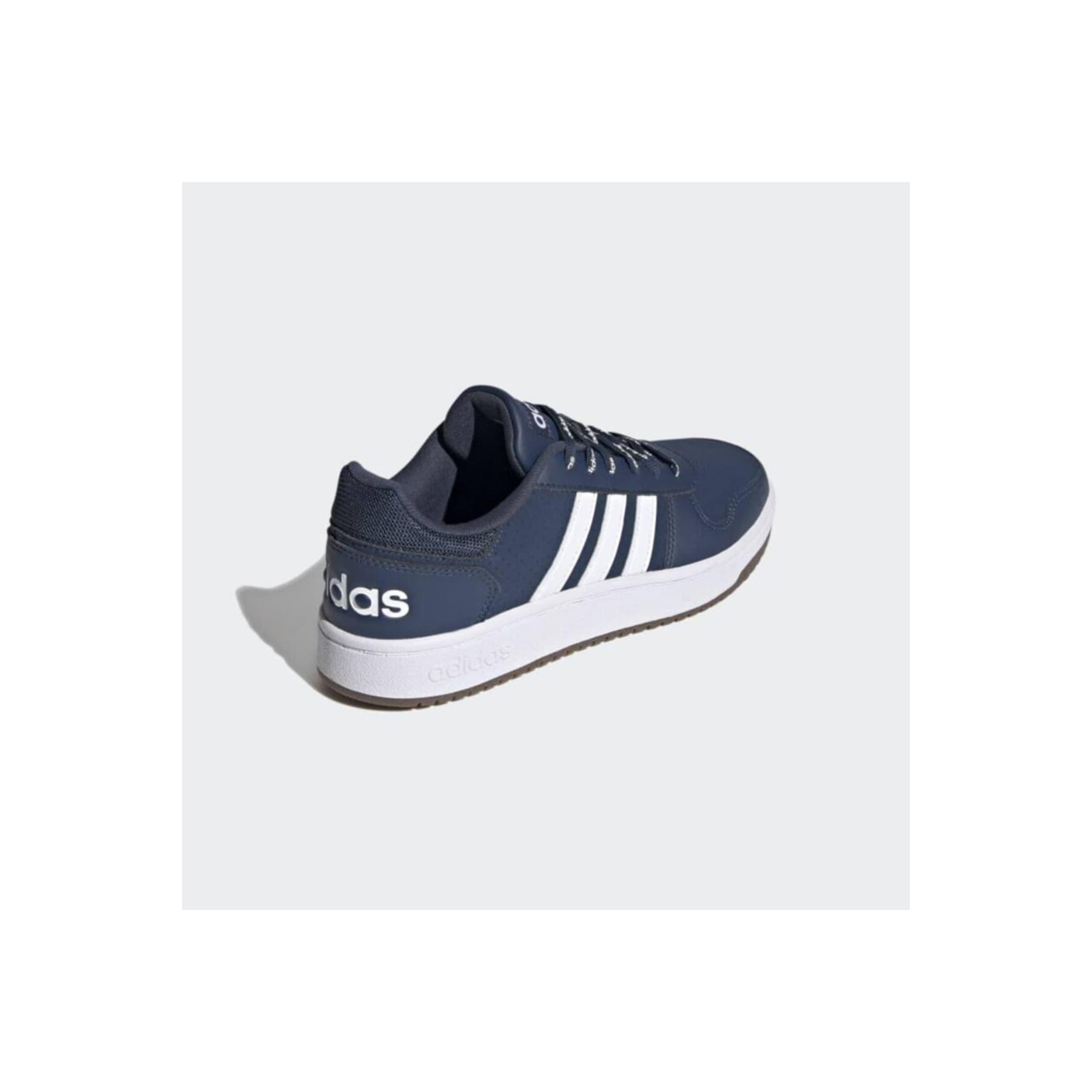Hoops 2.0 Erkek Mavi Spor Ayakkabı (FY8631)