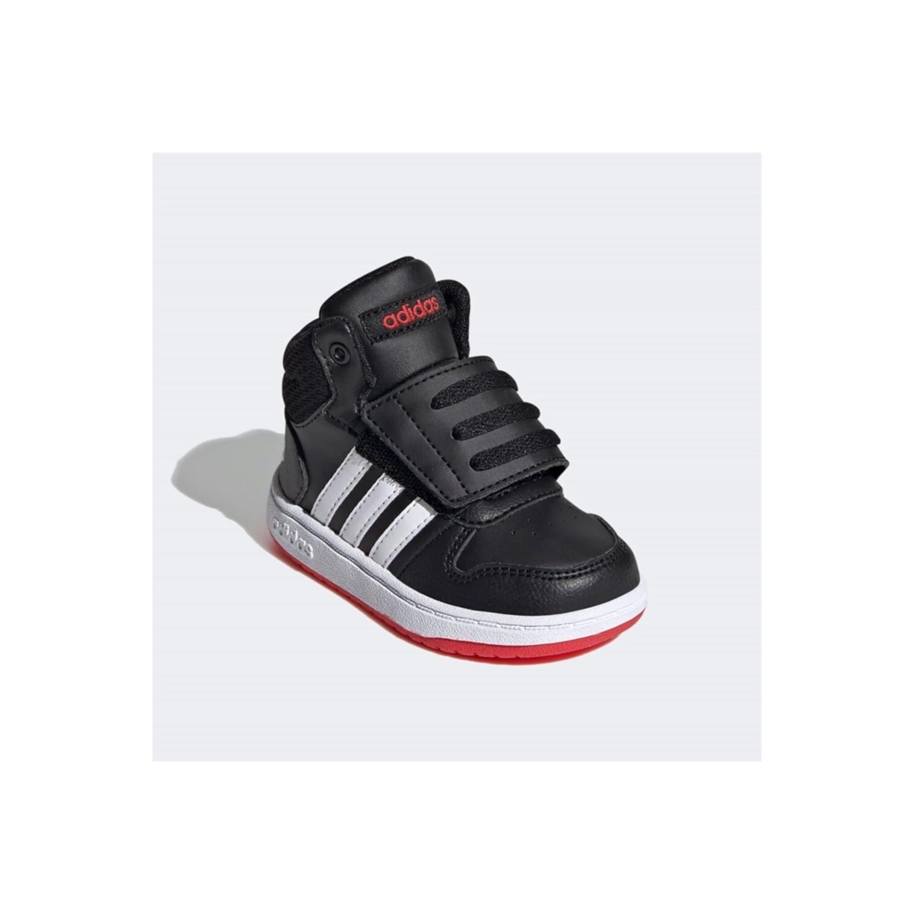 Hoops 2.0 Çocuk Siyah Spor Ayakkabı (FY9291)