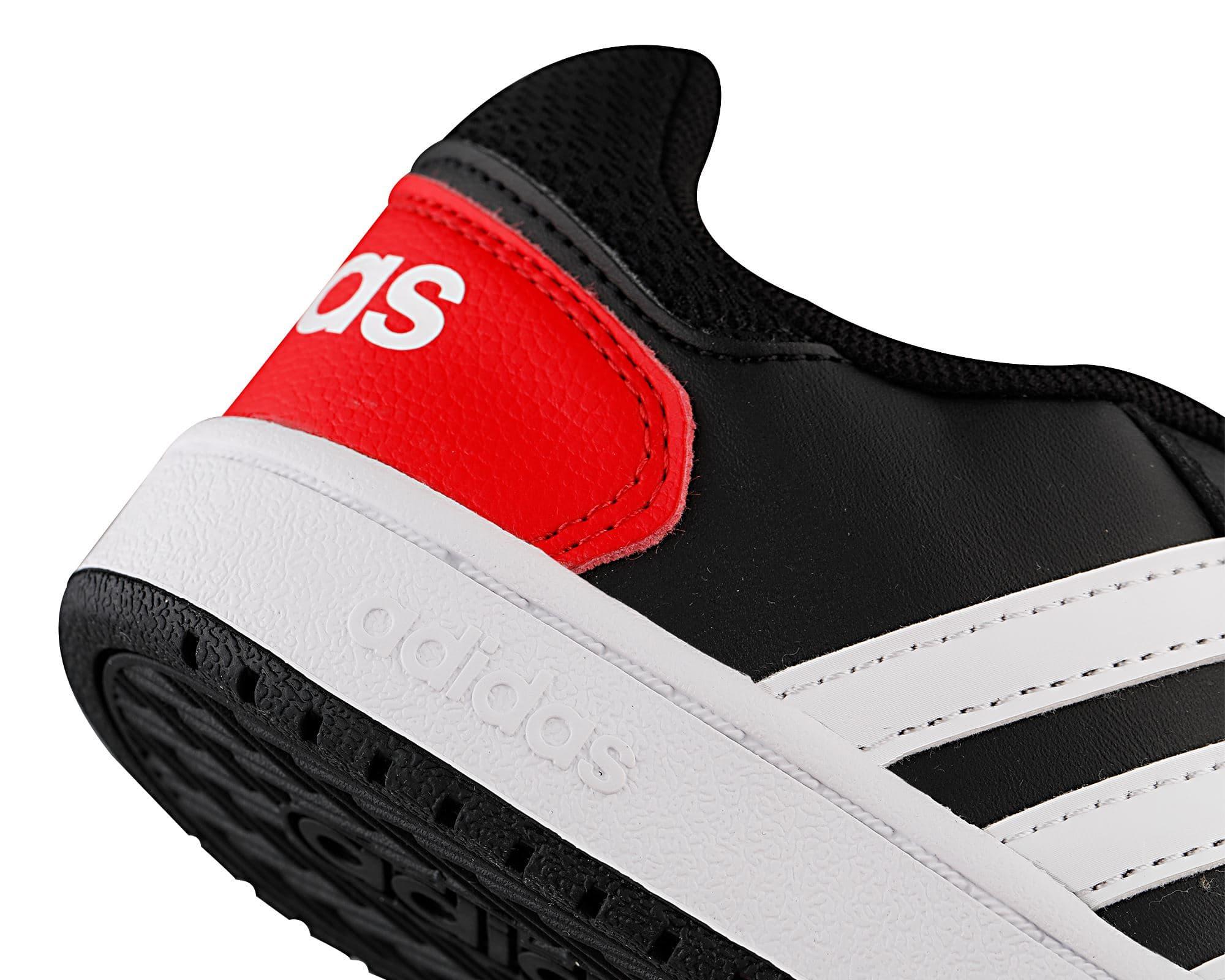 Hoops 2.0 Çocuk Siyah Spor Ayakkabı (FY9442)