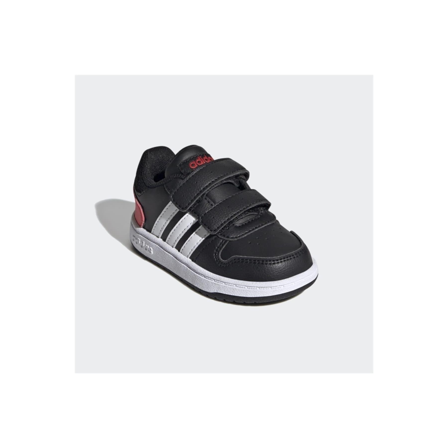 Hoops 2.0 Çocuk Siyah Spor Ayakkabı (FY9444)