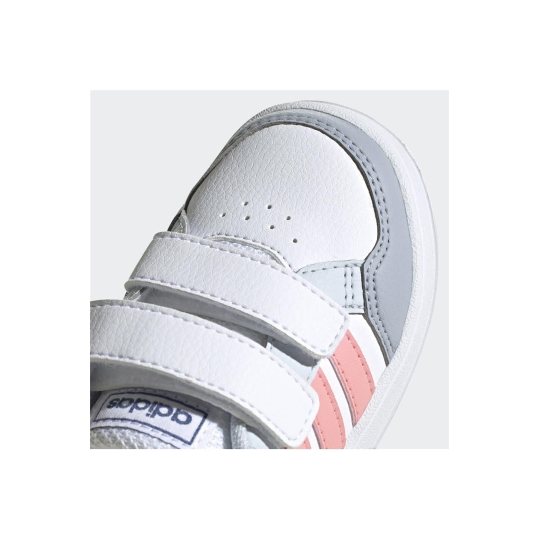 adidas Breaknet Çocuk Beyaz Spor Ayakkabı (FZ0089)