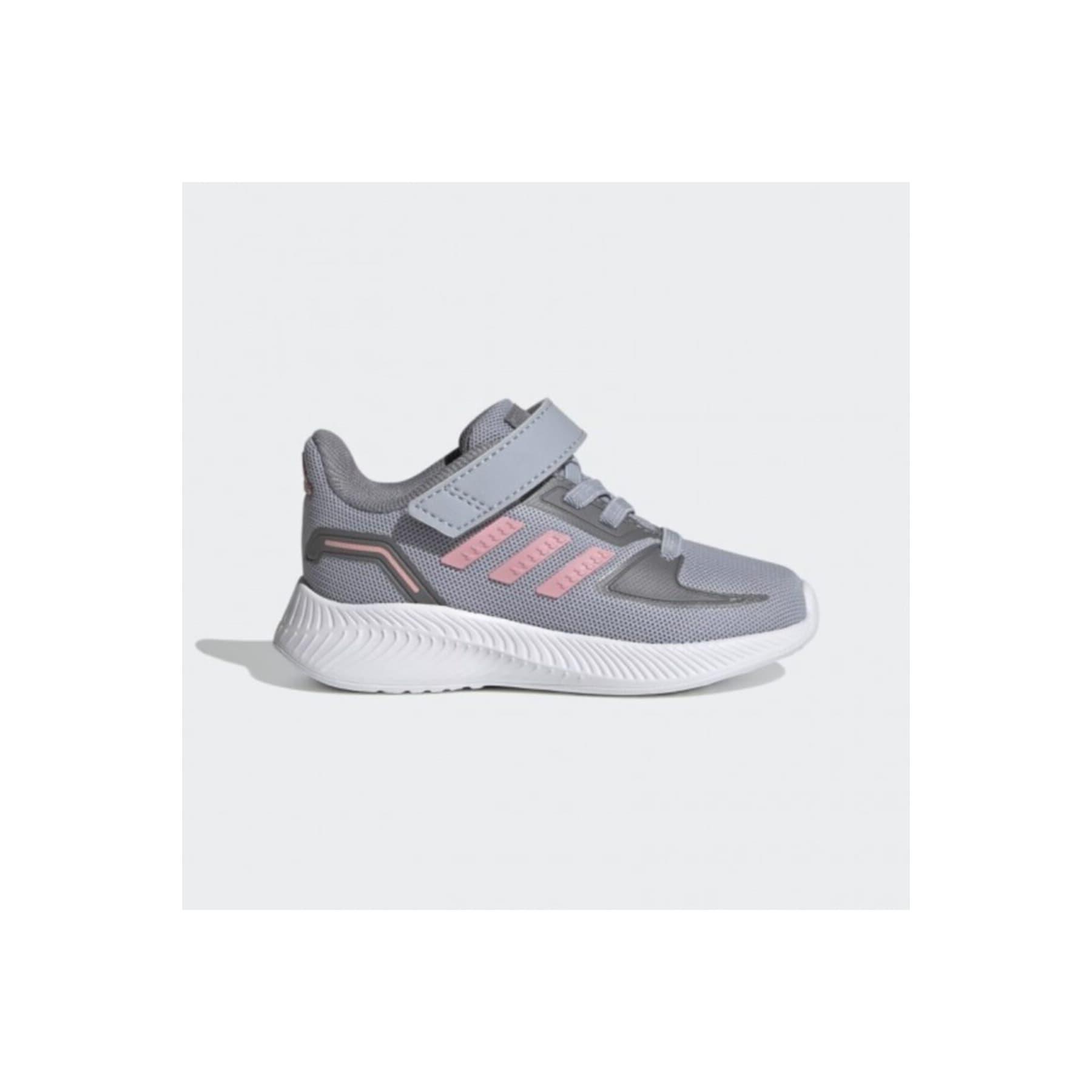 adidas Runfalcon 2.0 Çocuk Gri Spor Ayakkabısı (FZ0095)