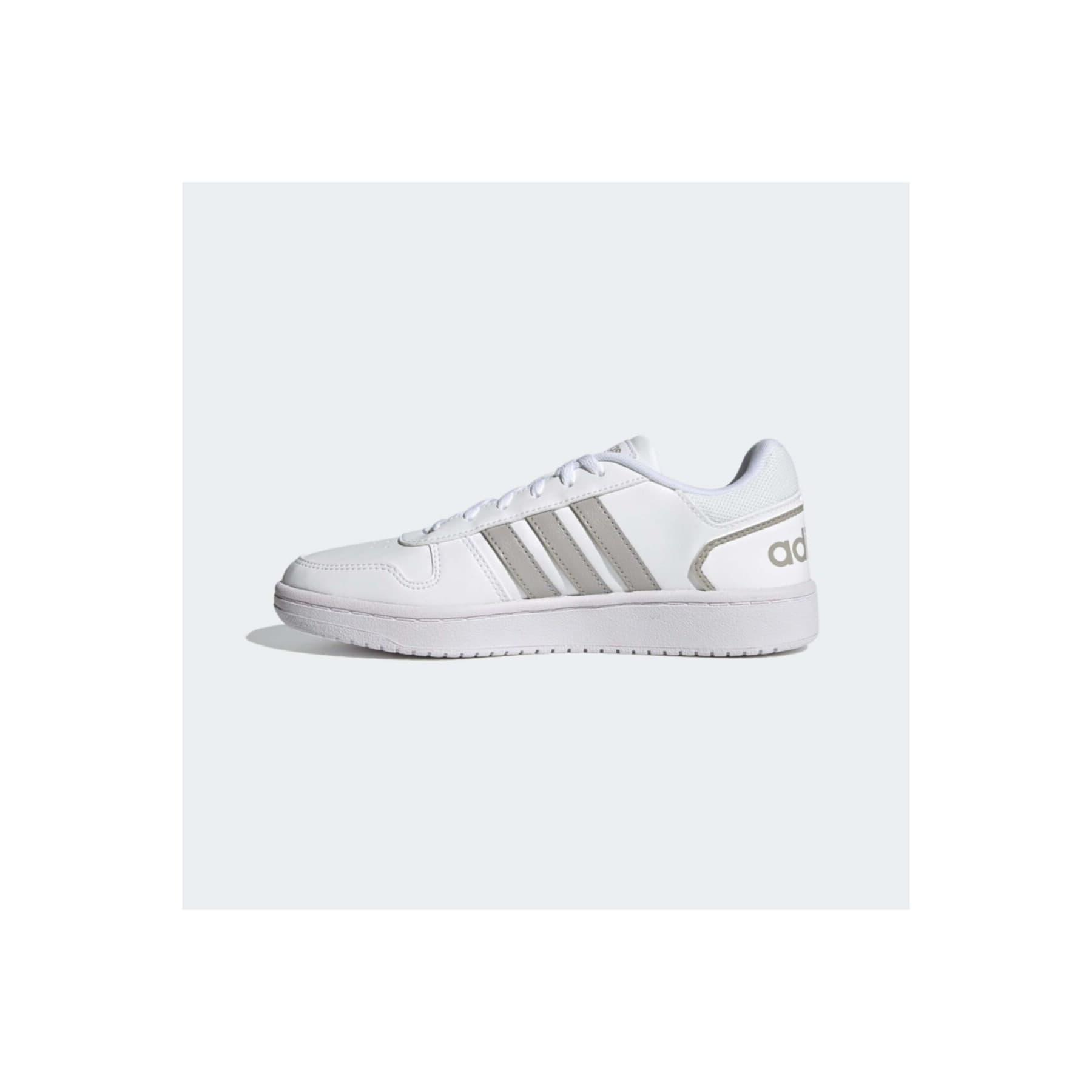 adidas Hoops 2.0 Kadın Beyaz Spor Ayakkabı (FZ2253)