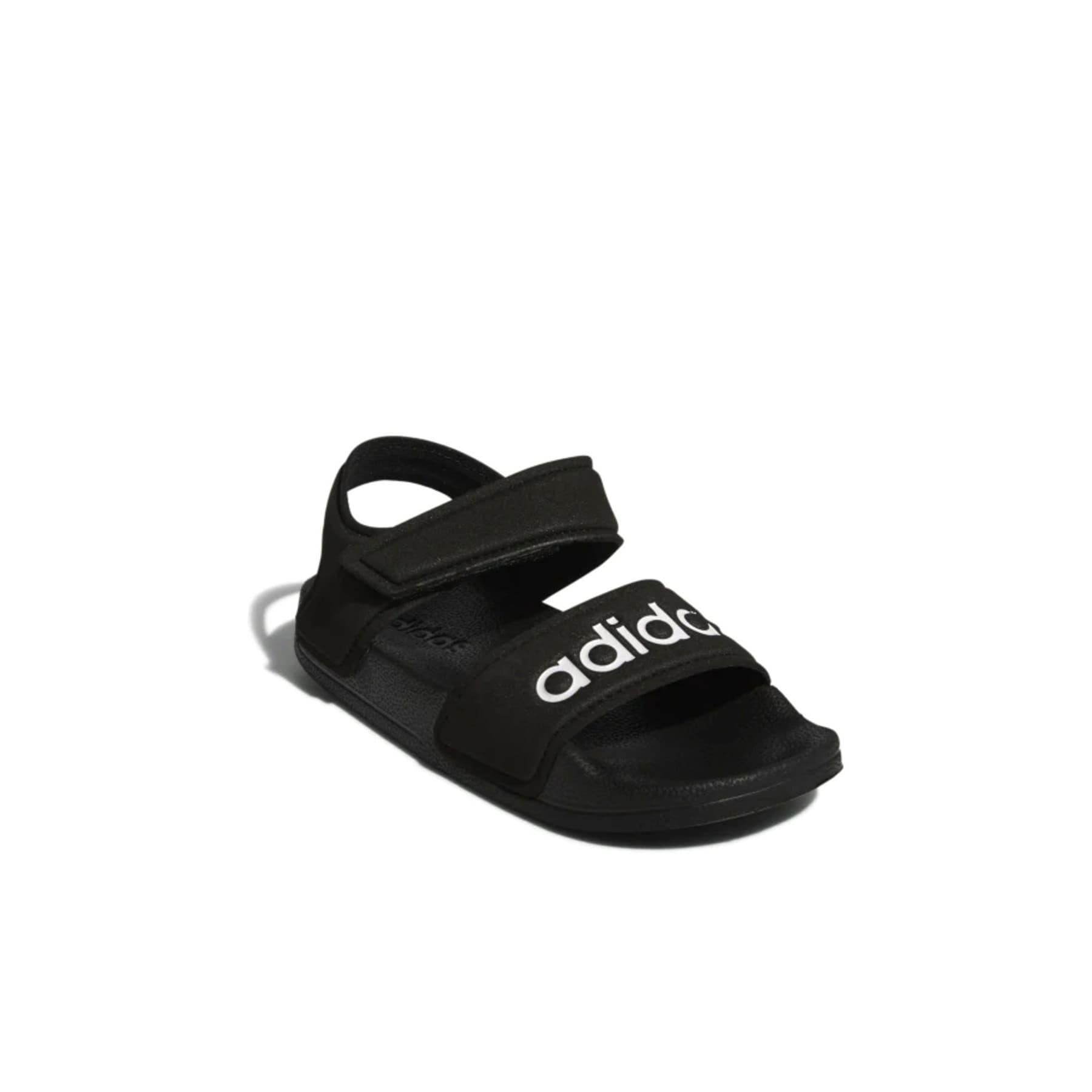 Adilette Siyah Çocuk Sandalet