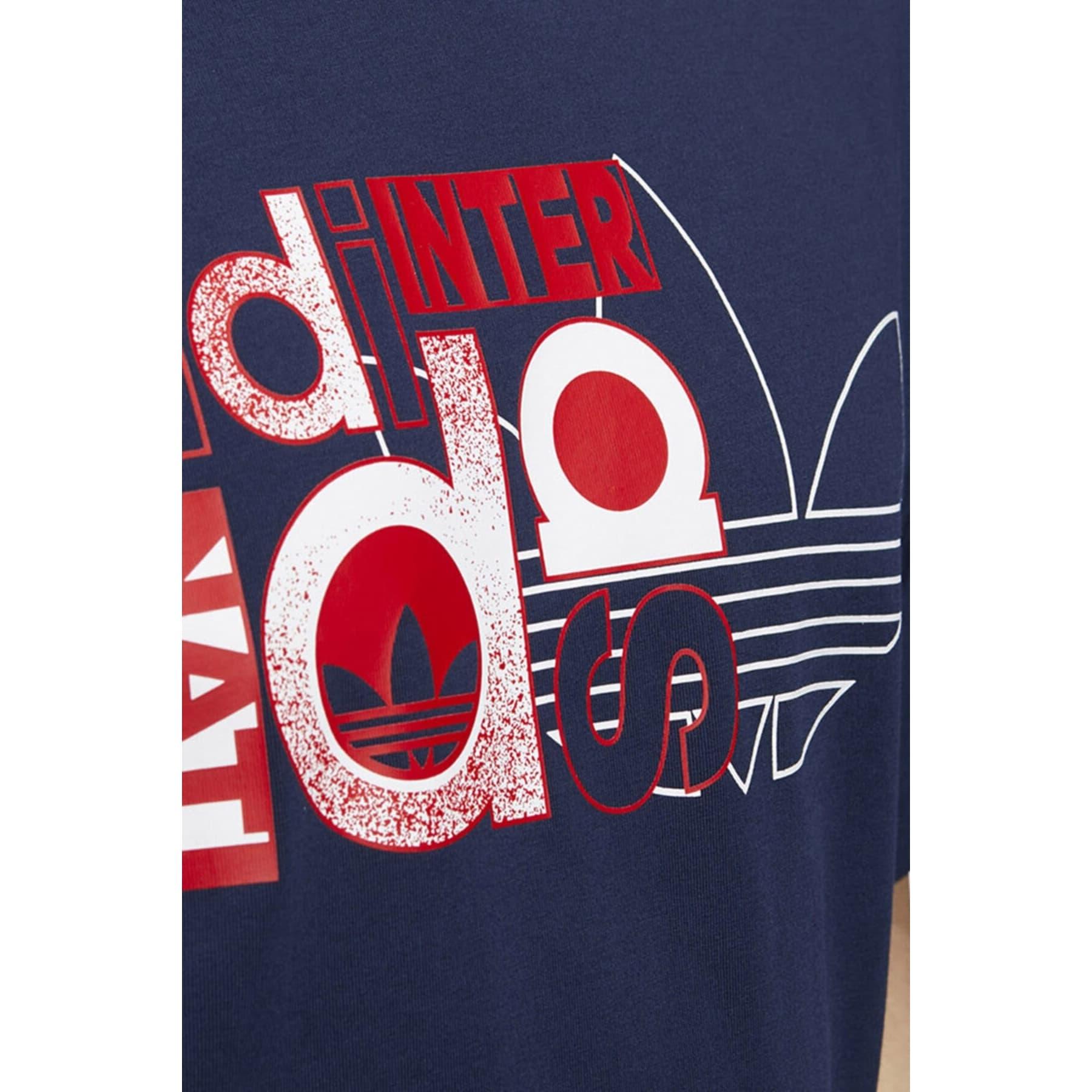 Internat Erkek Mavi Günlük Tişört