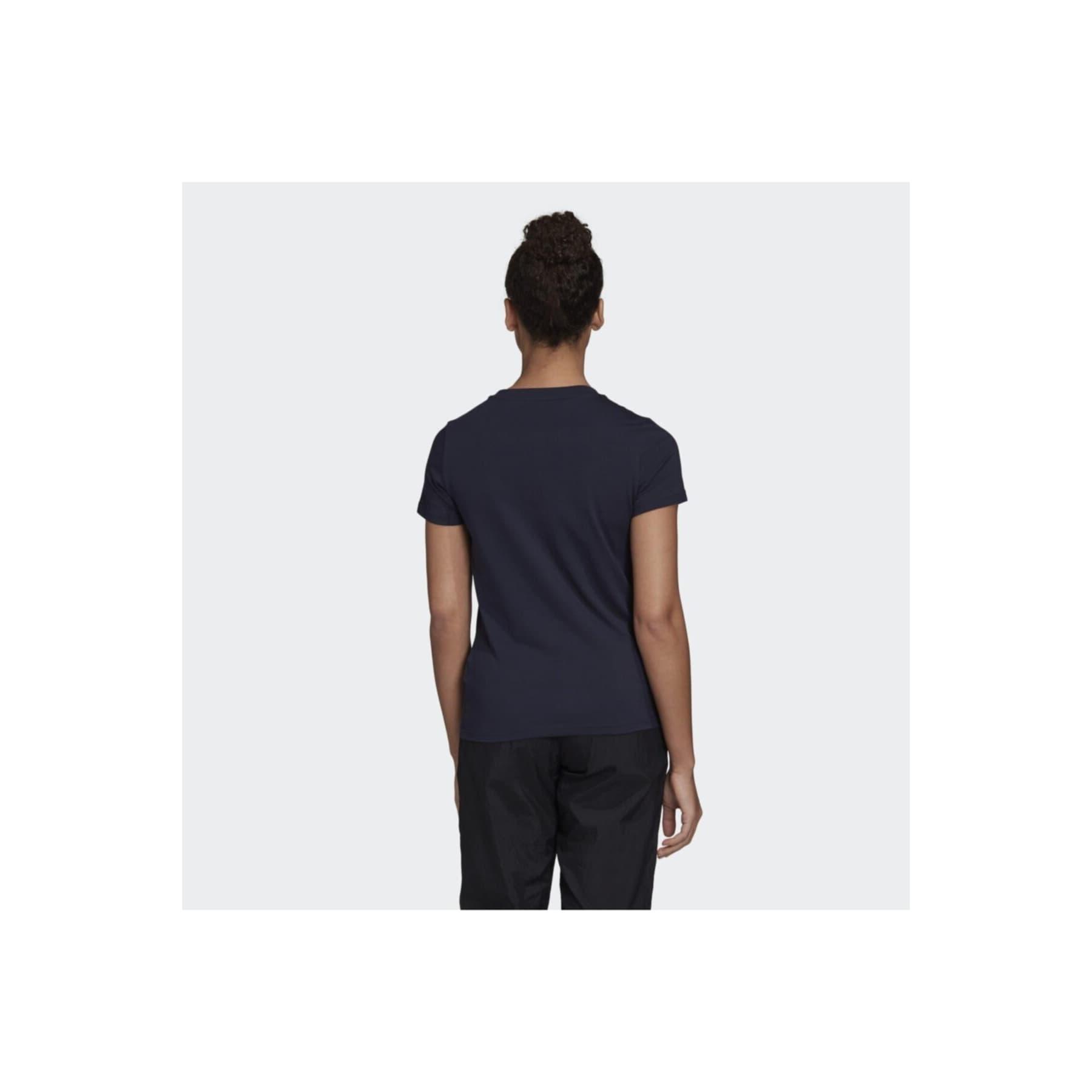 Essentials Linear Kadın Lacivert Spor Tişört