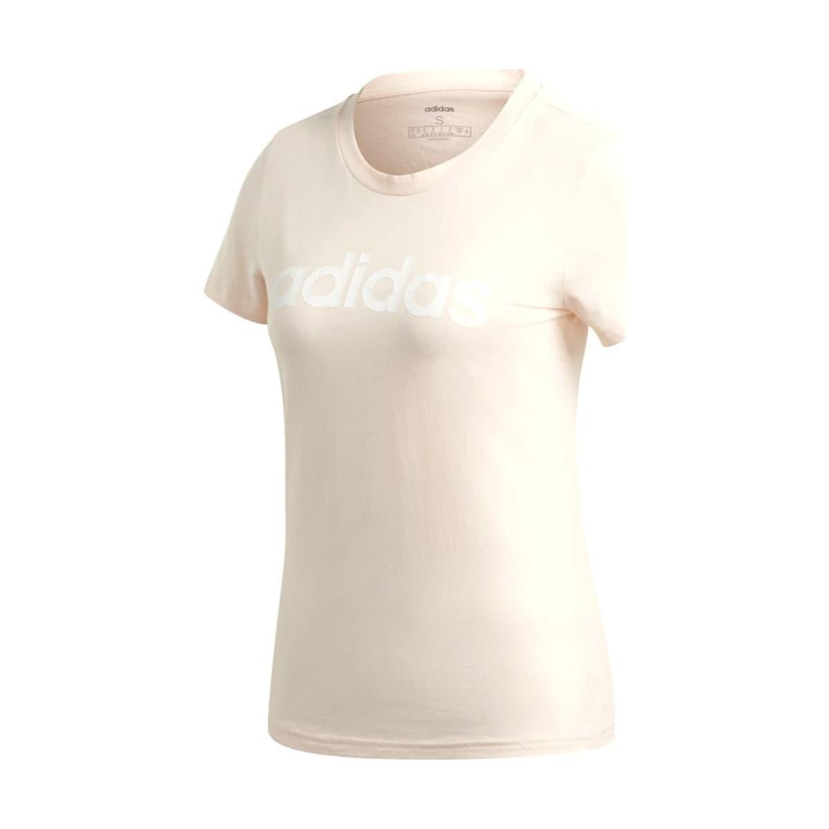 Essentials Linear Kadın Pembe Tişört (GD2933)