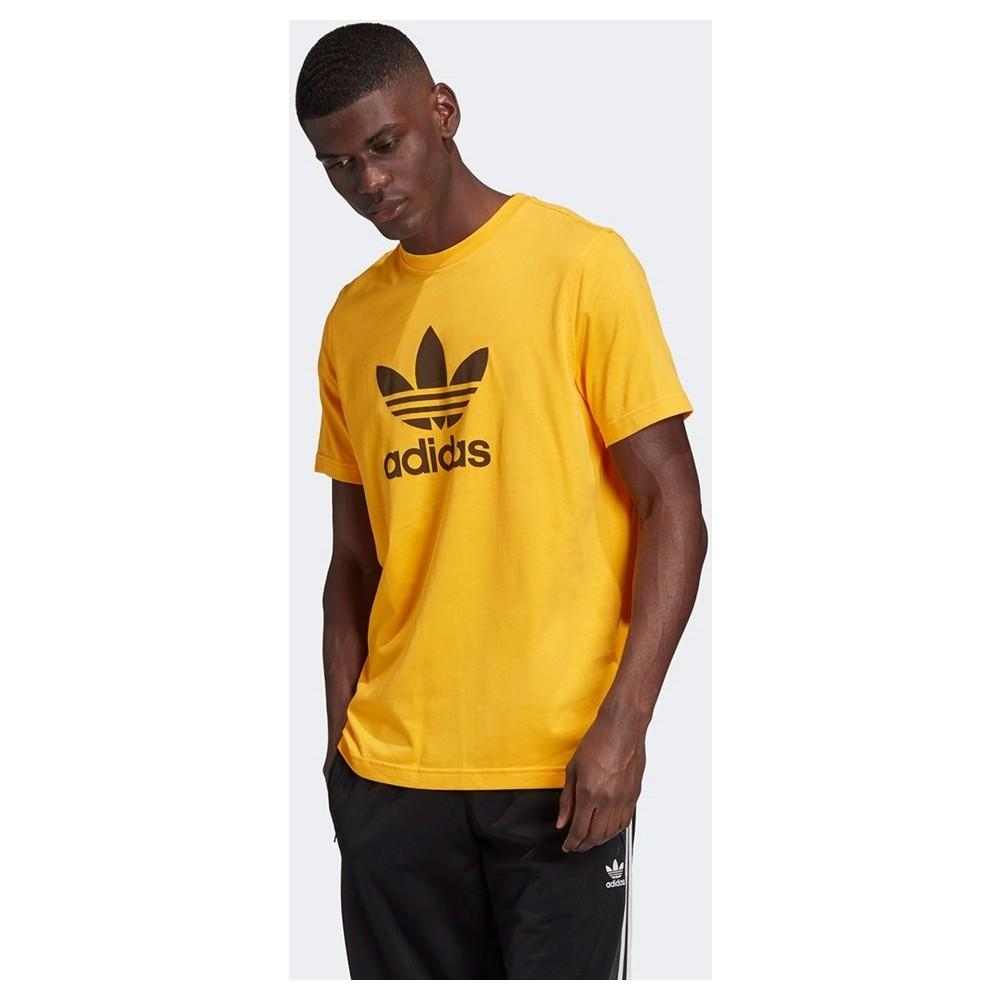 adidas Trefoil Erkek Sarı Tişört (GD9913)