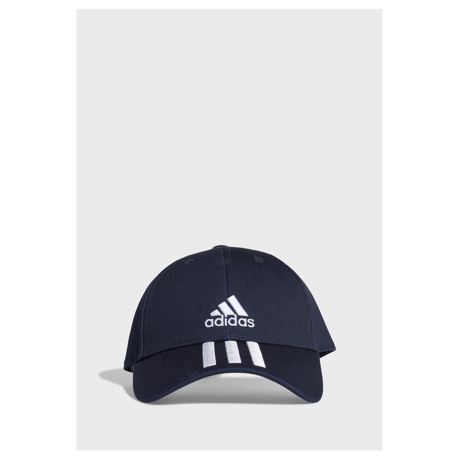 3-Stripes Twill Mavi Beyzbol Şapkası (GE0750)