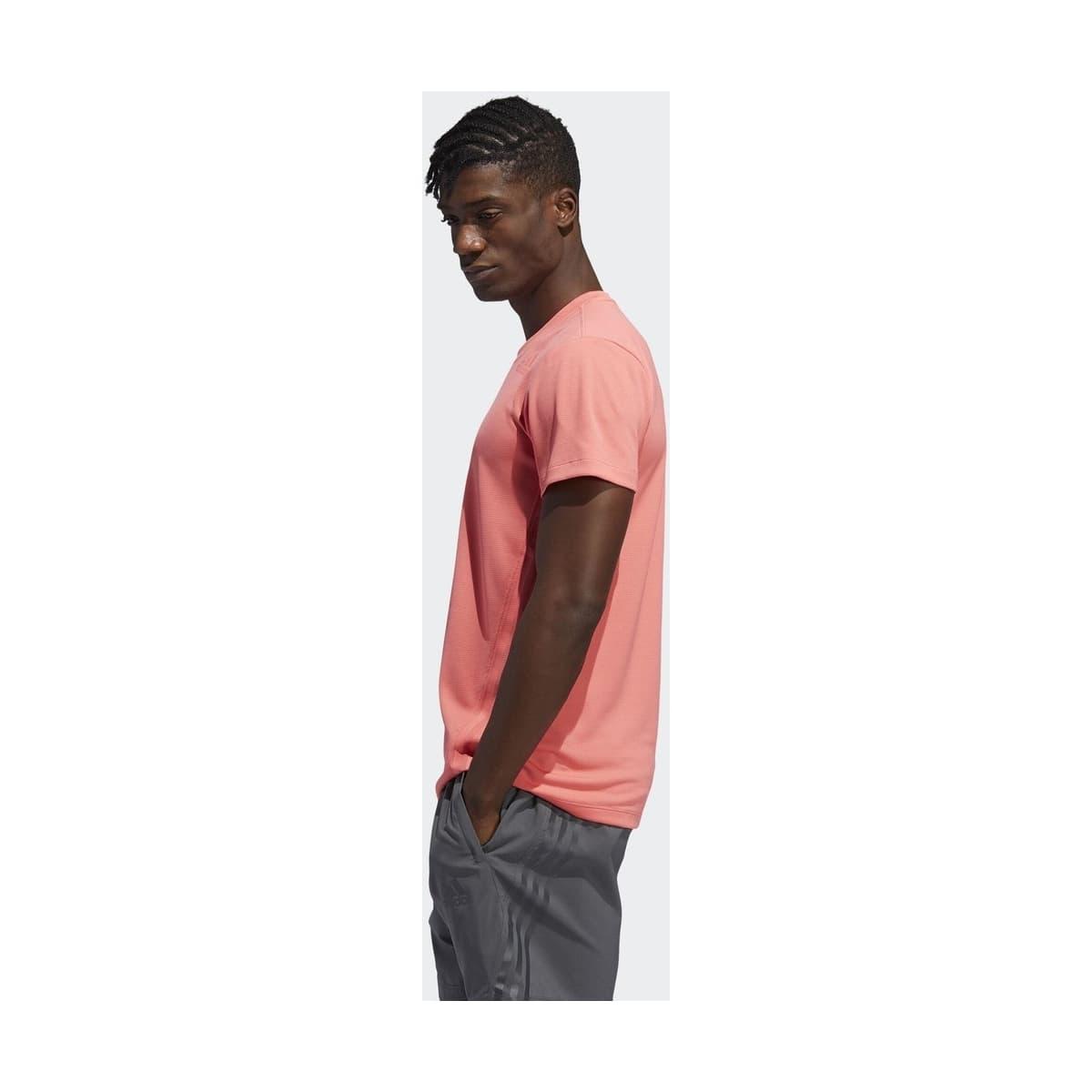 adidas Aeroready 3 Bantlı Erkek Pembe Tişört