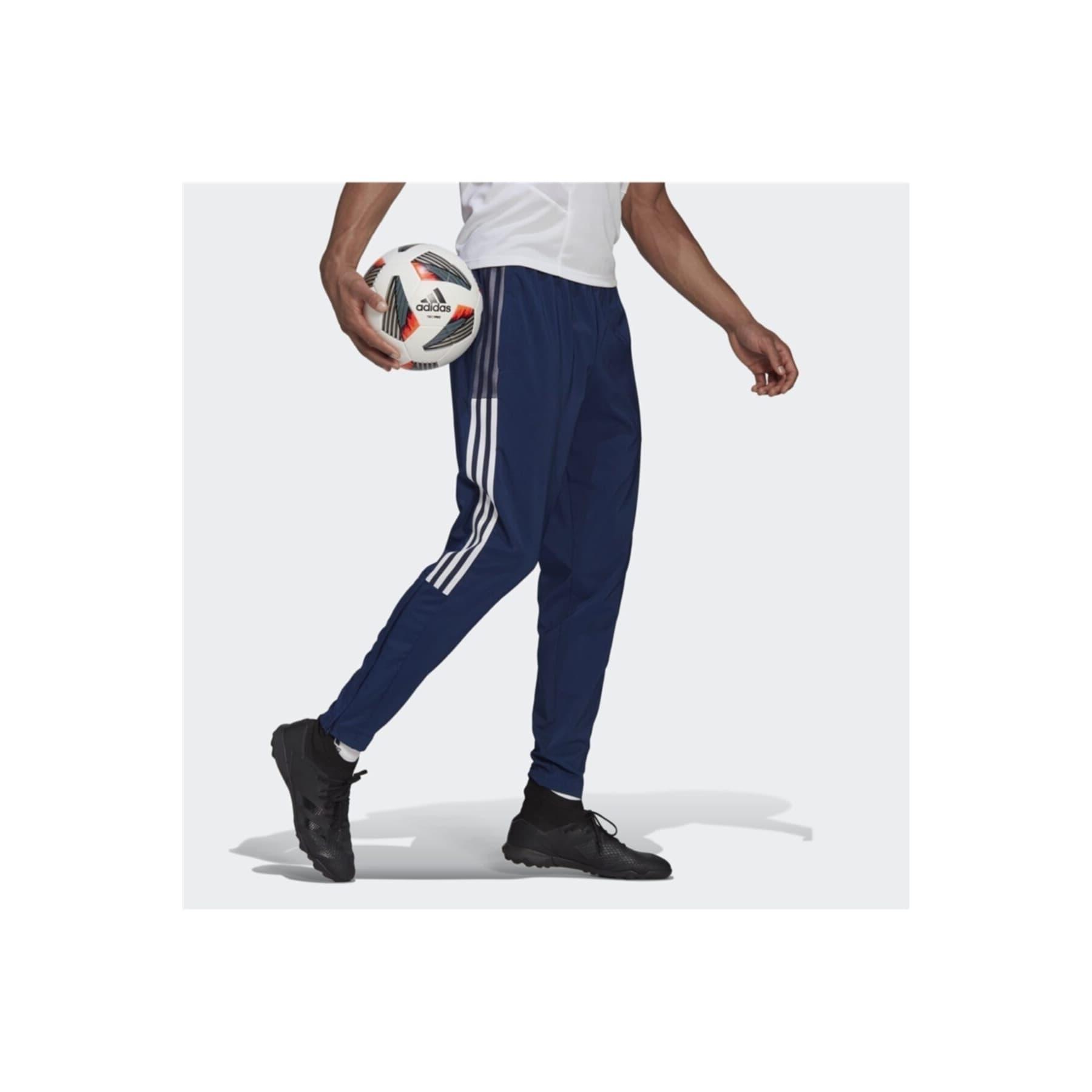 adidas Tiro 21 Woven Erkek Mavi Eşofman Altı (GH4470)