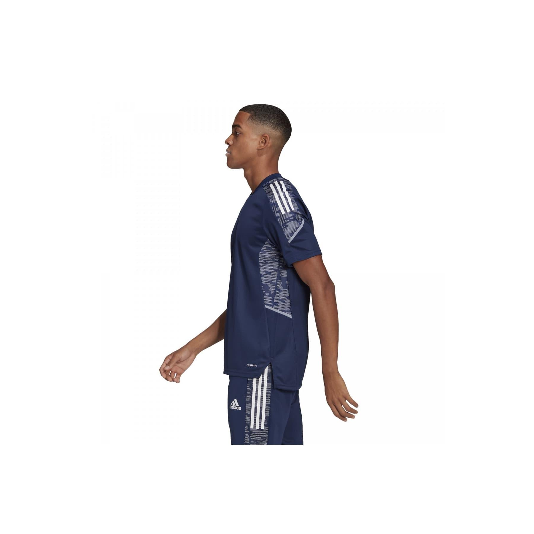 Condivo 21 Erkek Mavi Spor Tişört (GH7168)
