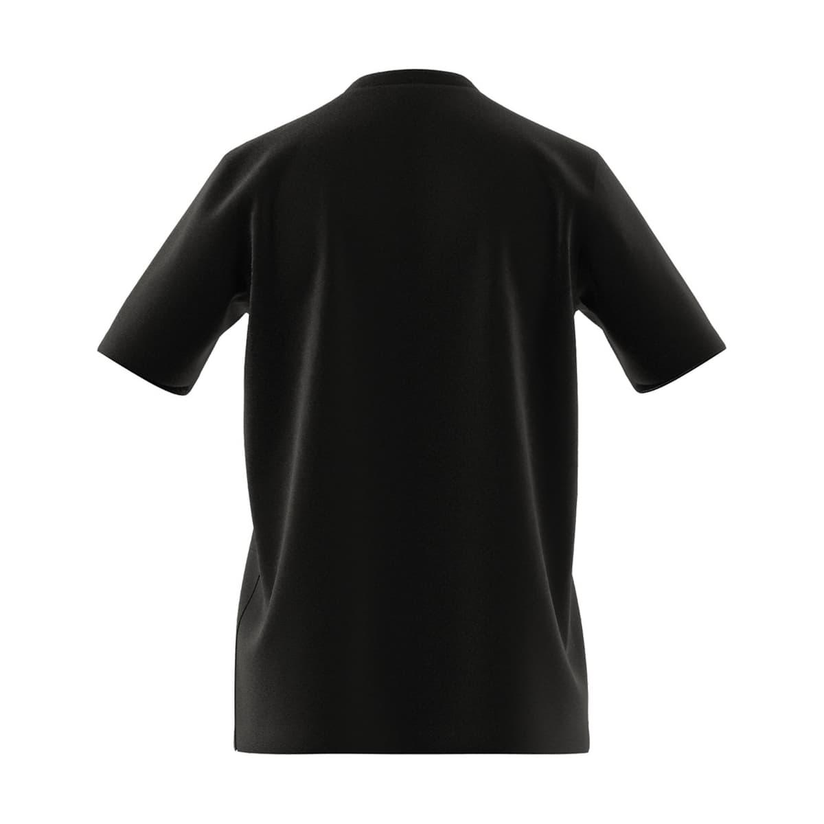 Essentials Big Logo Erkek Siyah Tişört (GK9120)
