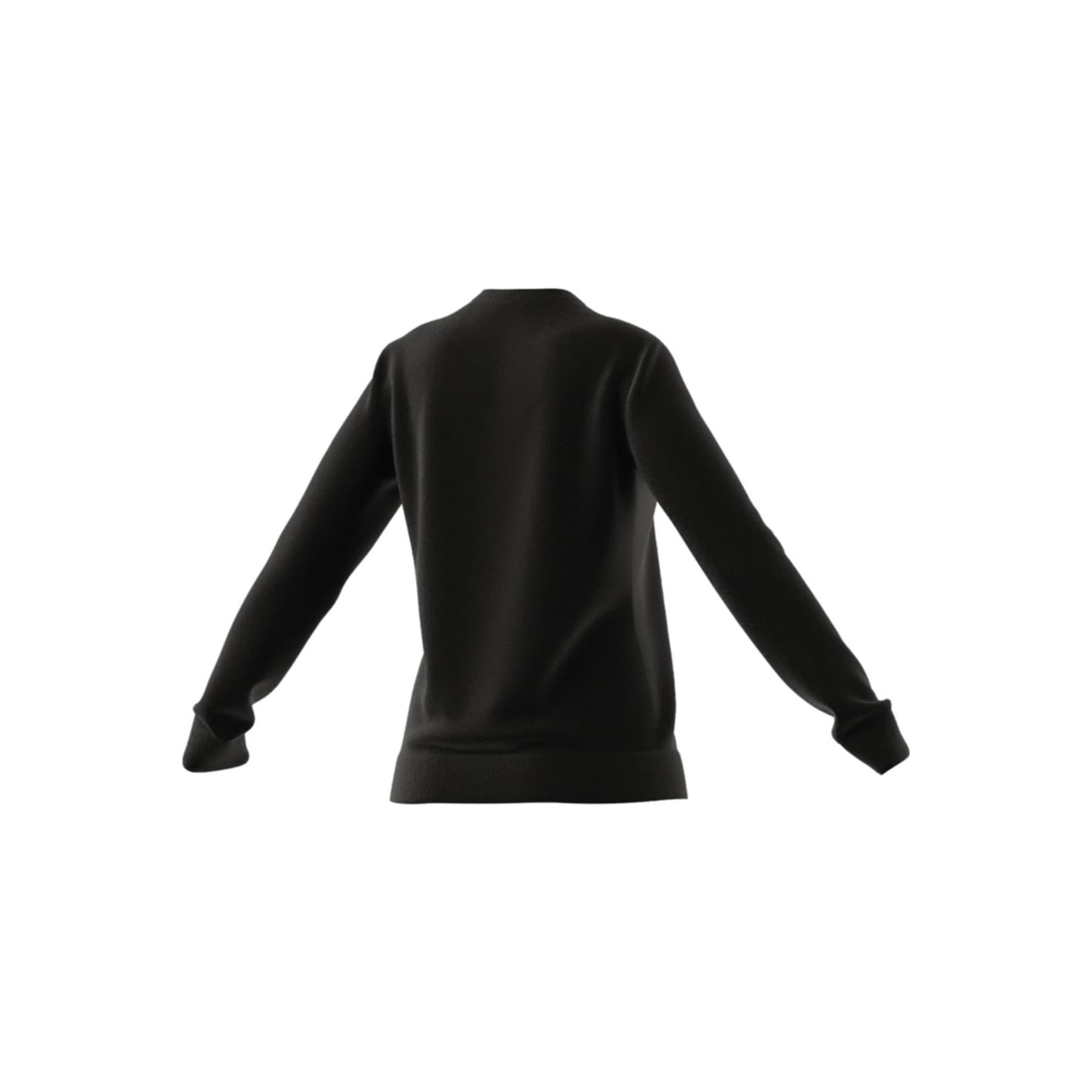 Essentials Logo Kadın Siyah Sweatshirt (GL0718)