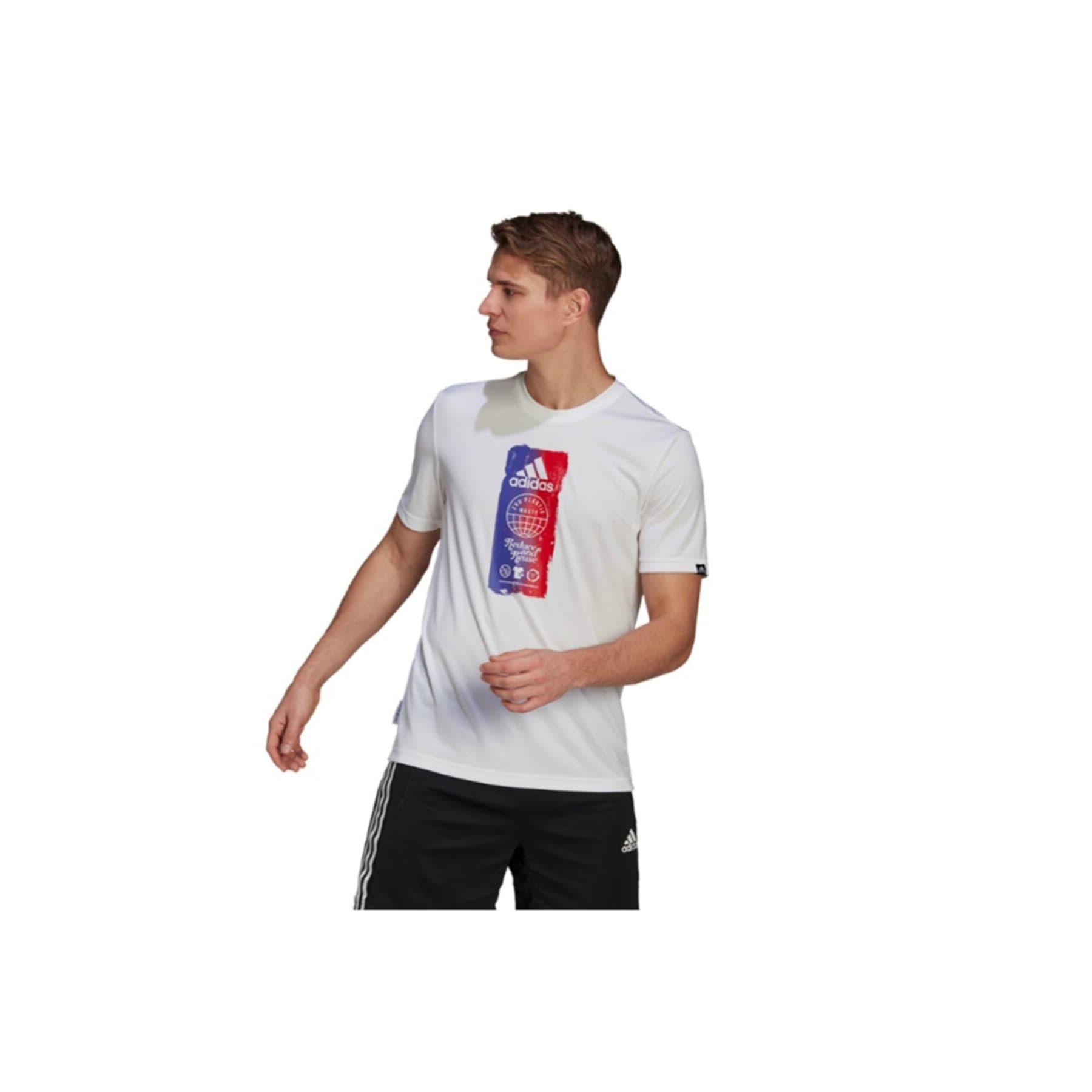 For The Oceans Icons Erkek Beyaz Tişört (GL3262)