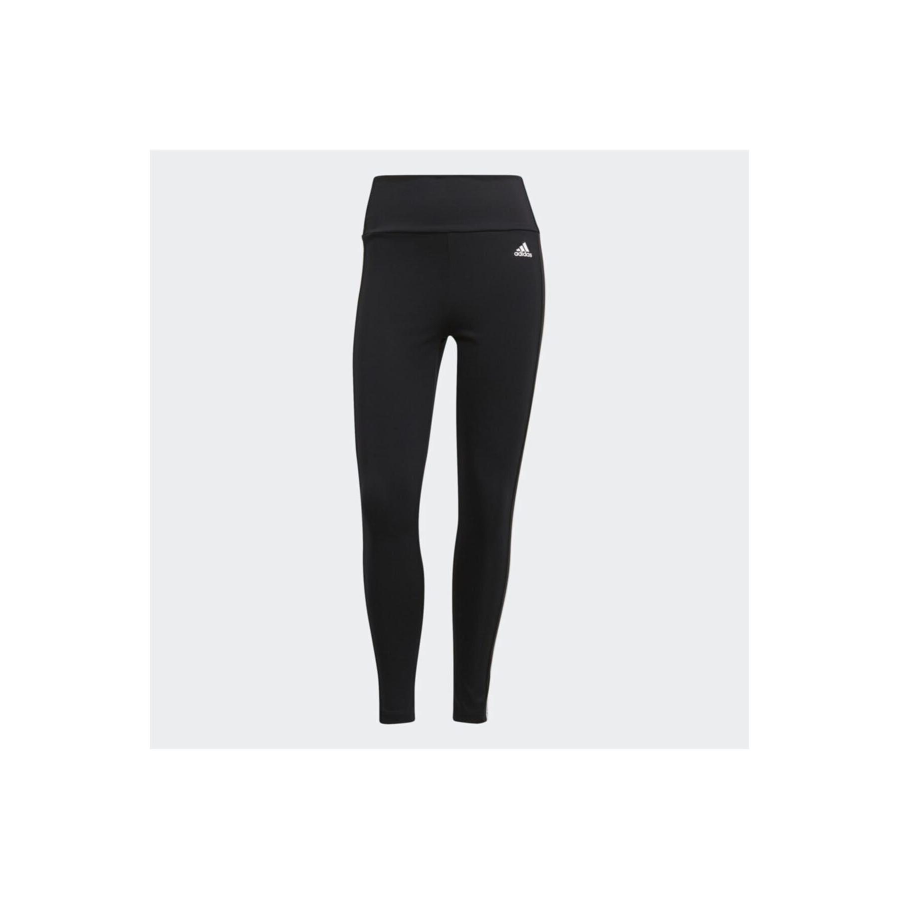 Designed To Move 3 Bantlı Yüksek Bel Kadın Siyah Tayt (GL4040)