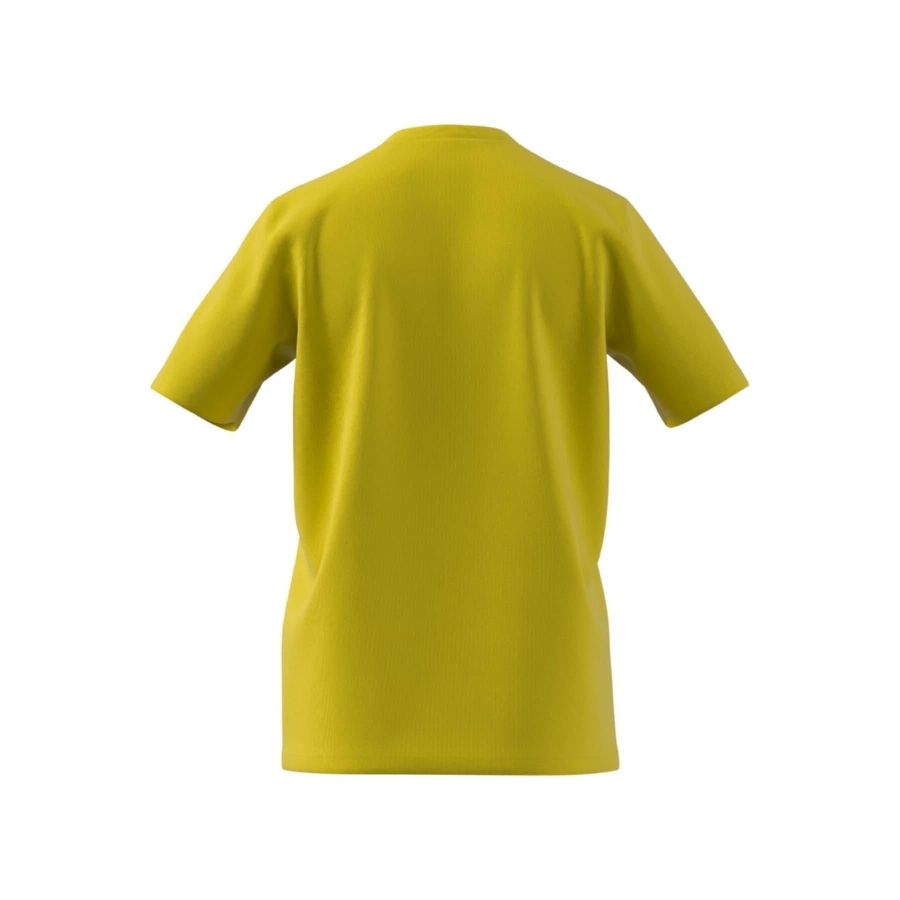 Essentials Big Logo Erkek Sarı Tişört (GM3248)