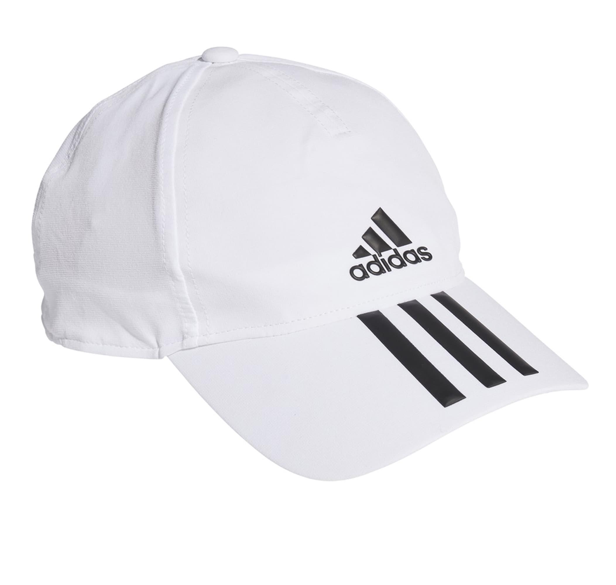 Aeroready 3-Stripes Beyaz Beyzbol Şapkası (GM4511)