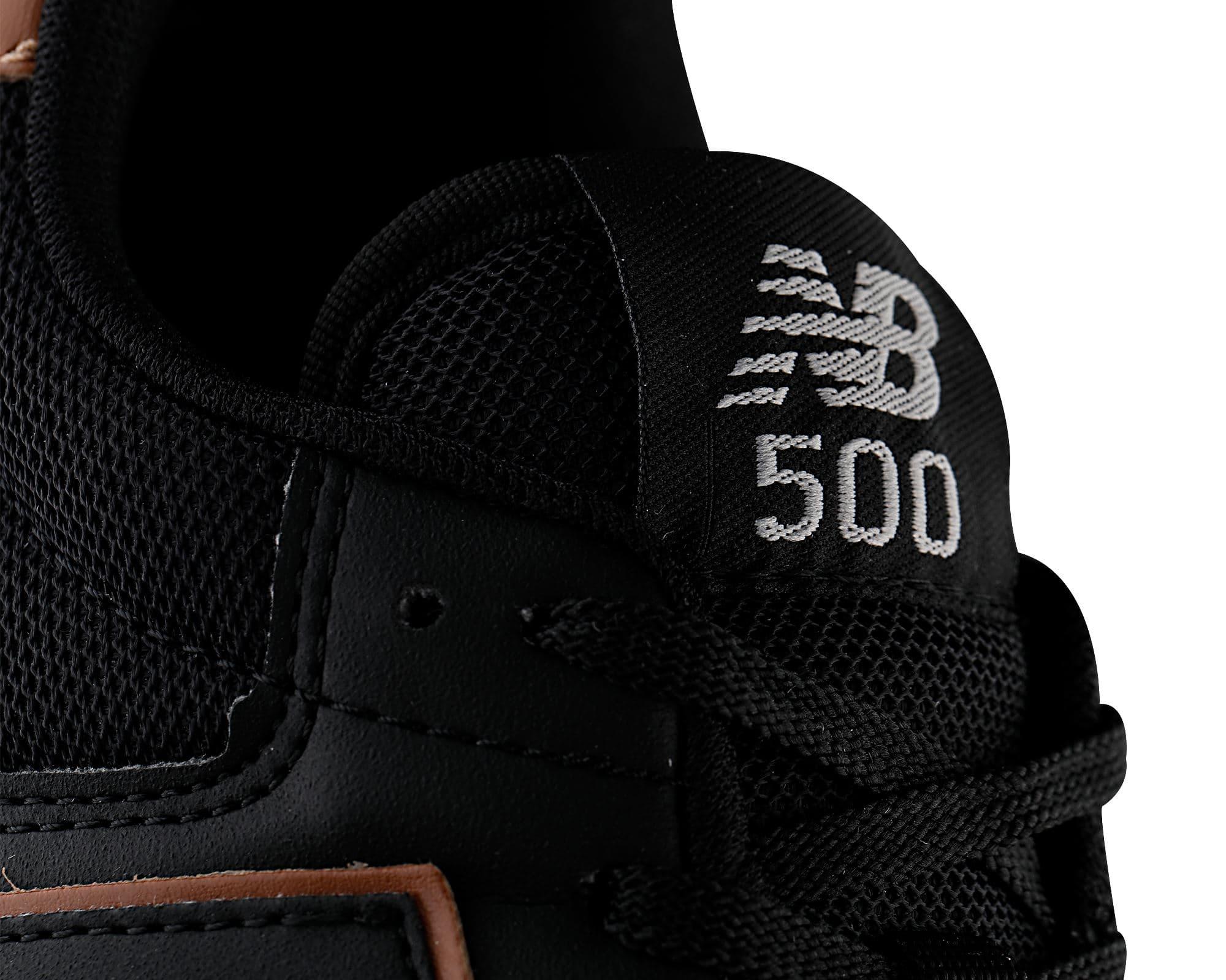 500 Erkek Siyah Spor Ayakkabı (GM500BGB)