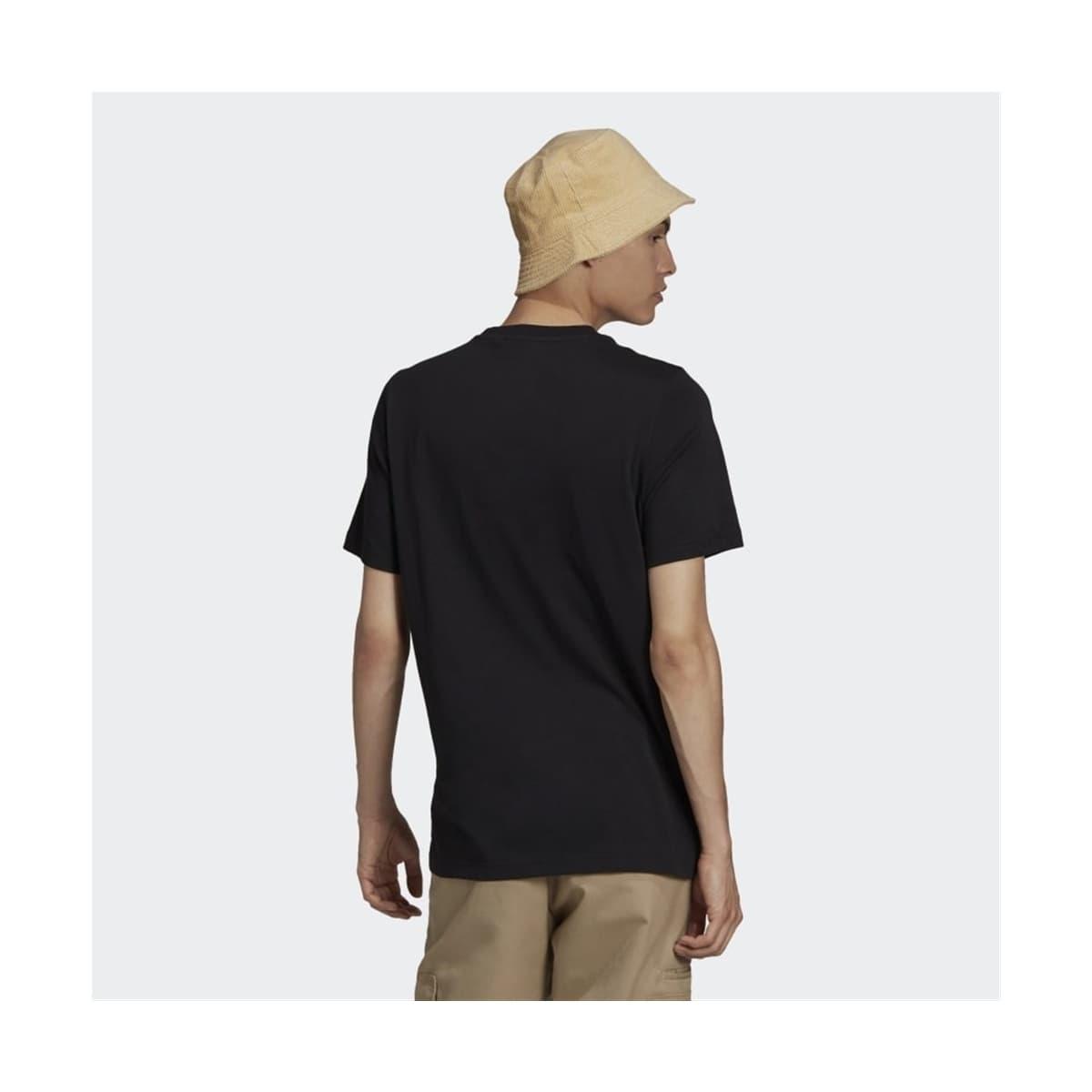 Camo Trefoil Erkek Siyah Tişört (GN1856)
