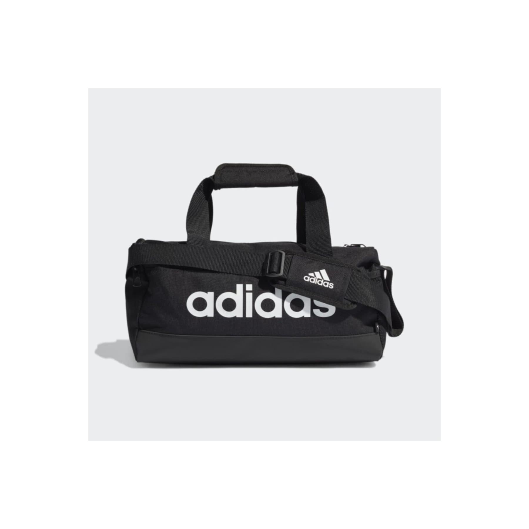 Essentials Logo Siyah Spor Çantası (GN1925)