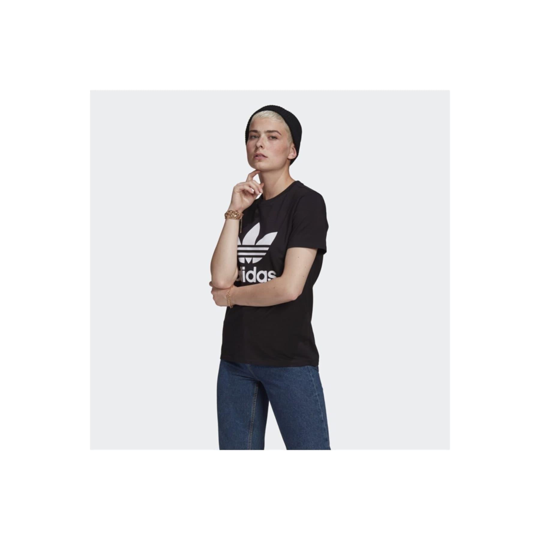 Adicolor Classics Trefoil Kadın Siyah Tişört (GN2896)